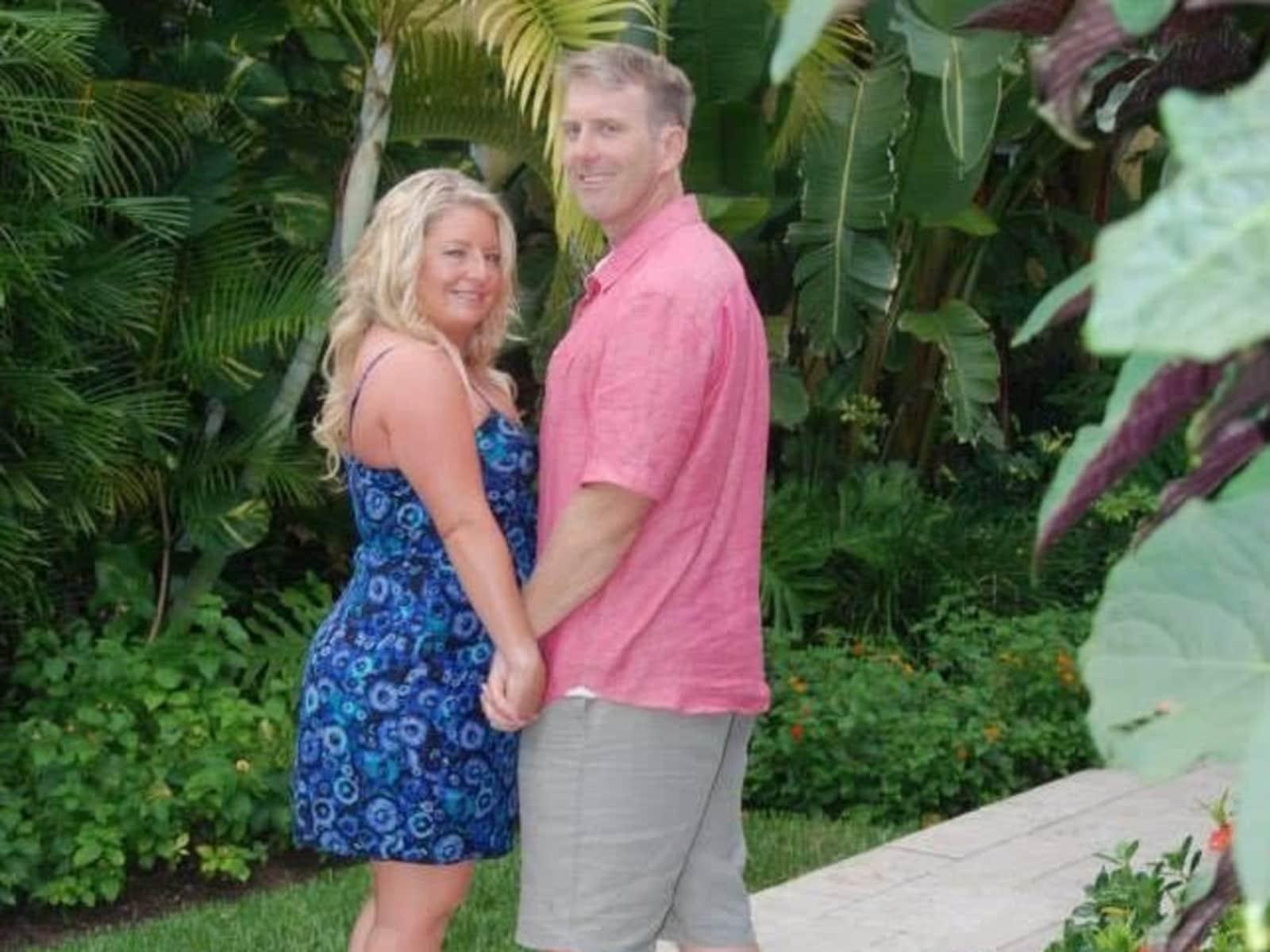 Jennifer & George (ed) from Orlando, Florida, United States