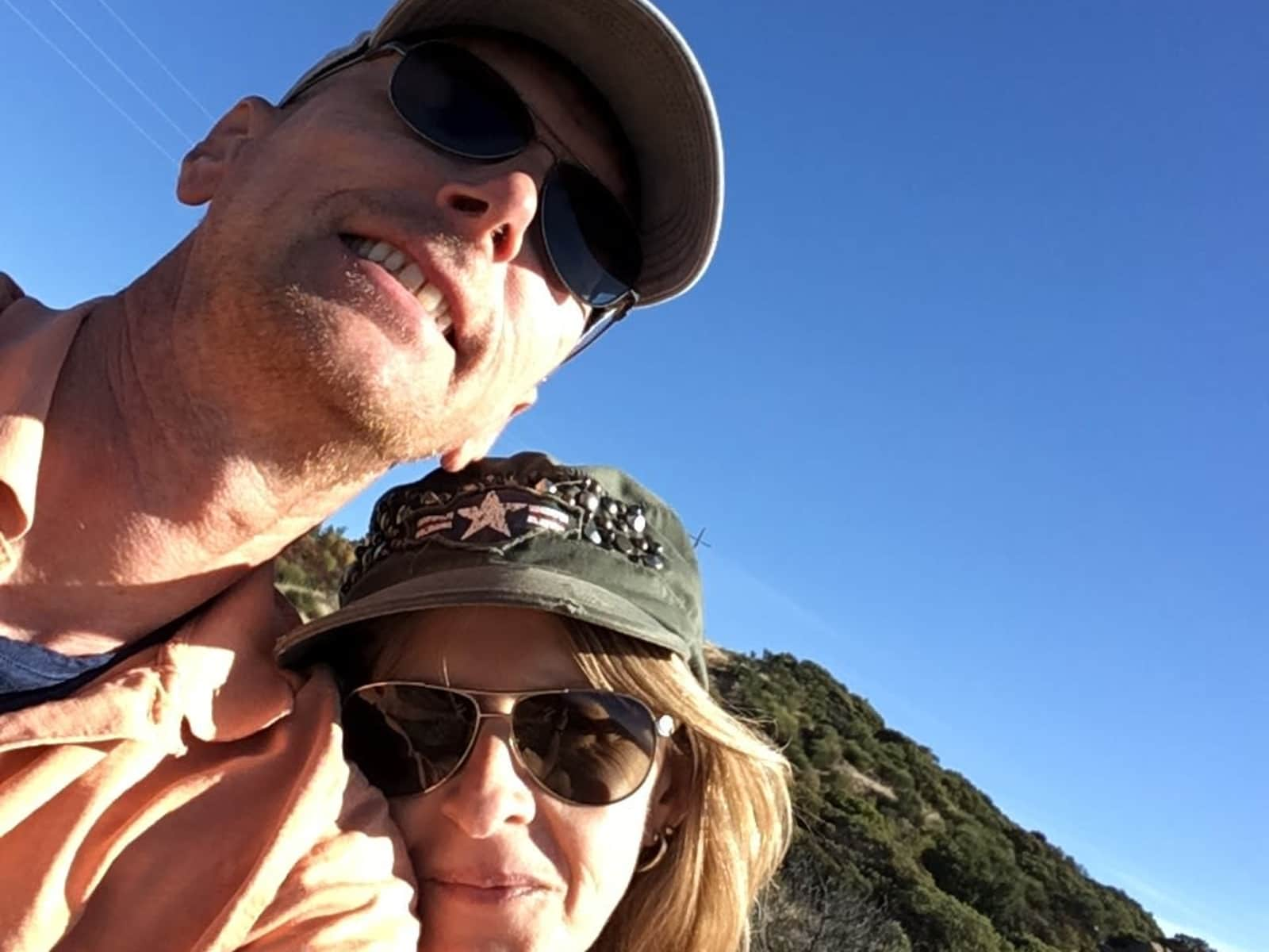 Christine & Nigel from Santa Barbara, California, United States