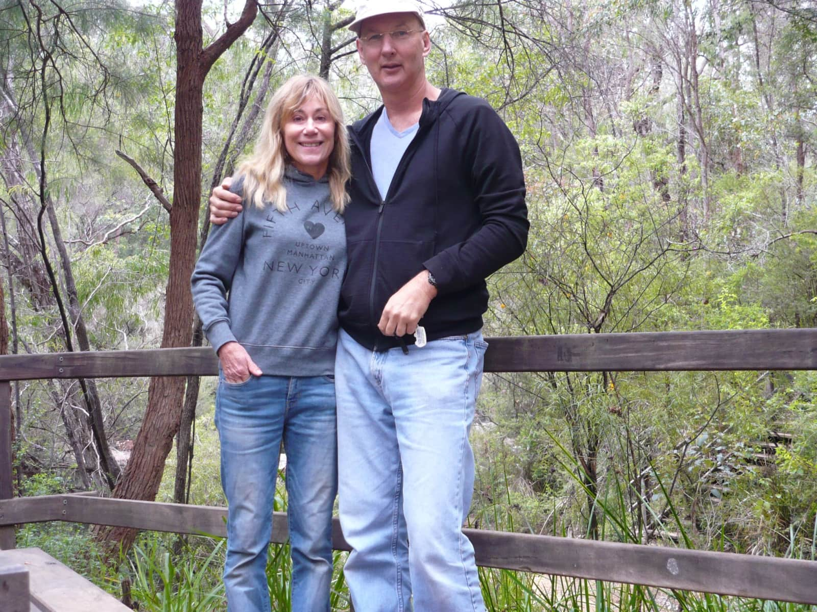 Cynthia & Greg from Mansfield, Victoria, Australia