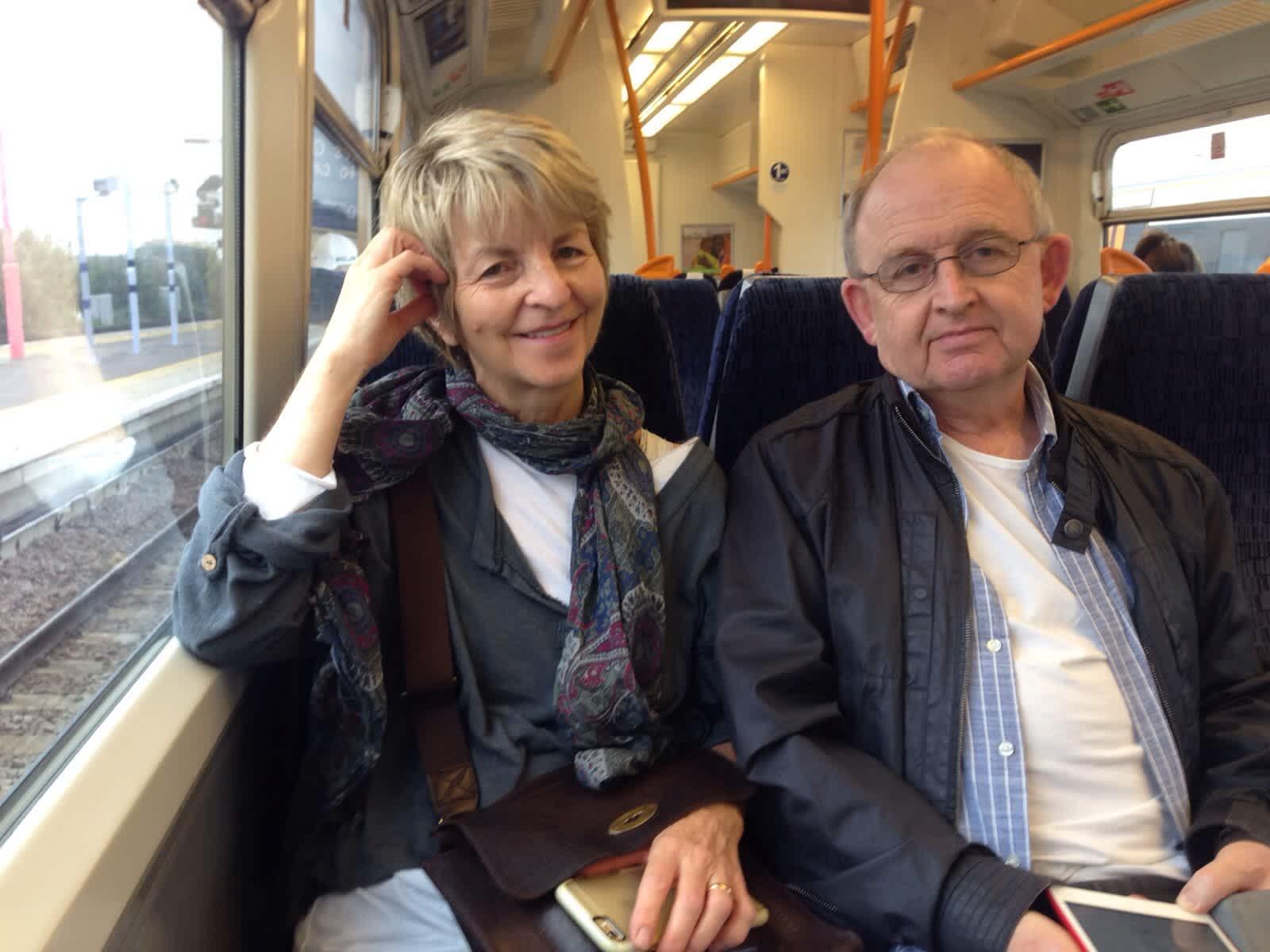 Ros & Ian from London, United Kingdom