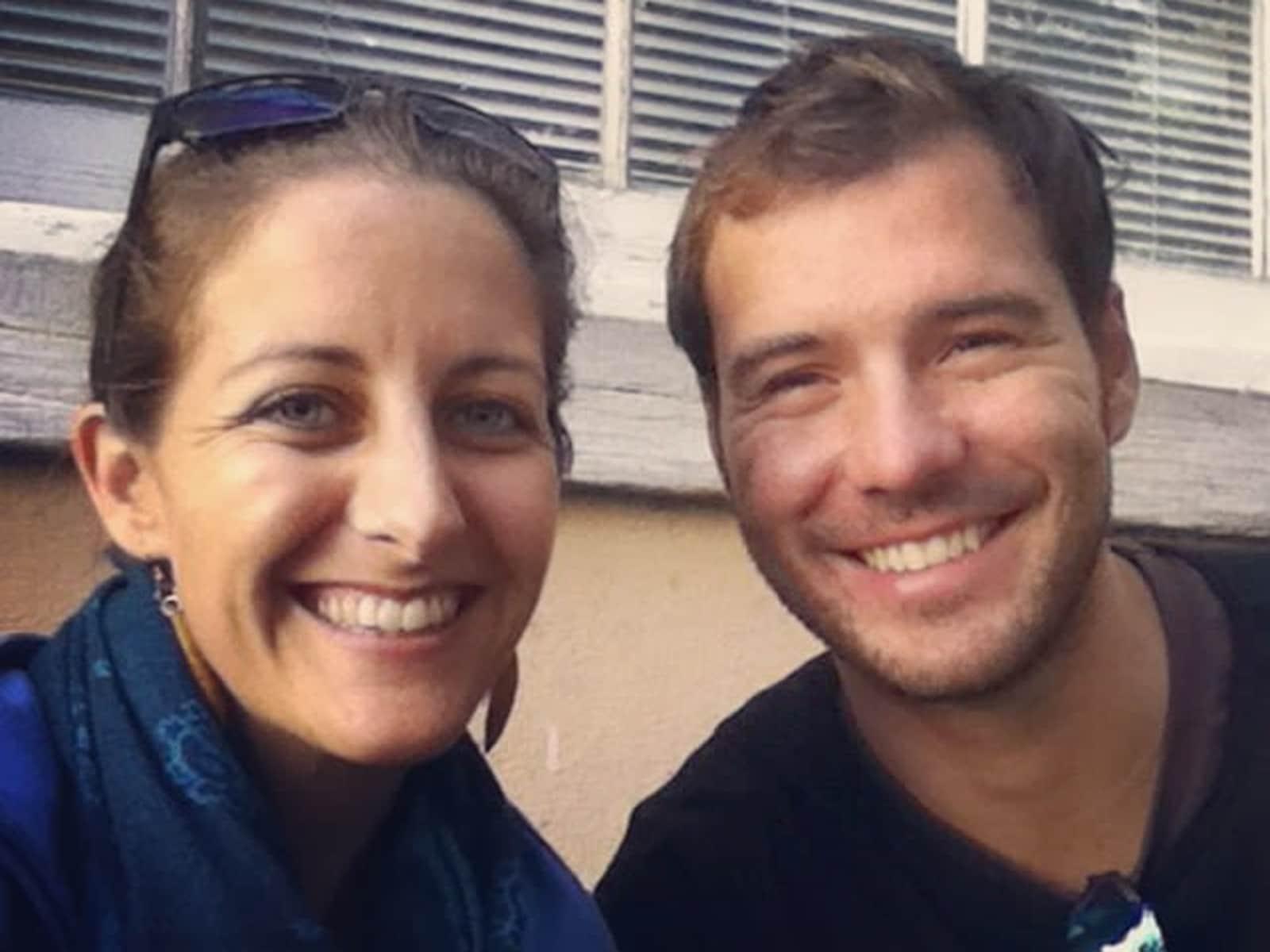 Amanda & Jonathan from Edinburgh, United Kingdom