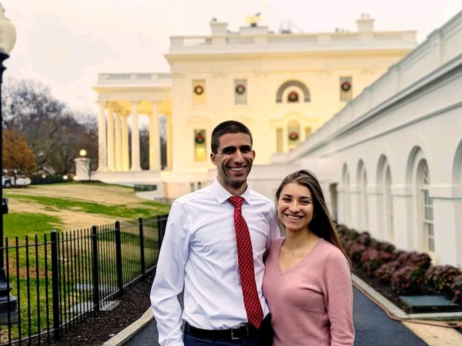 Louis & Emily from Washington, D.C., Washington, D.C., United States