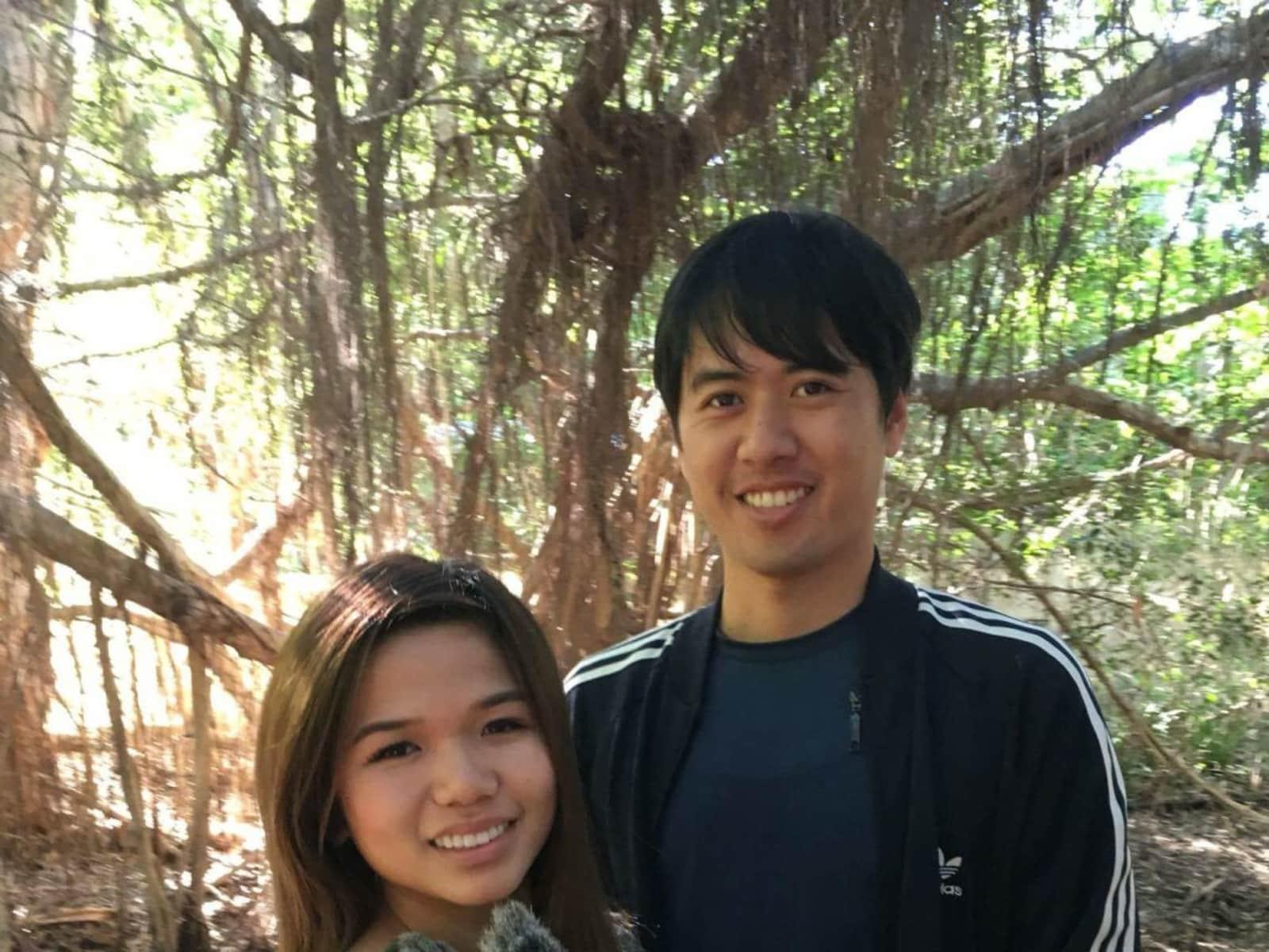 James & alisa & Alisa from Cairns, Queensland, Australia