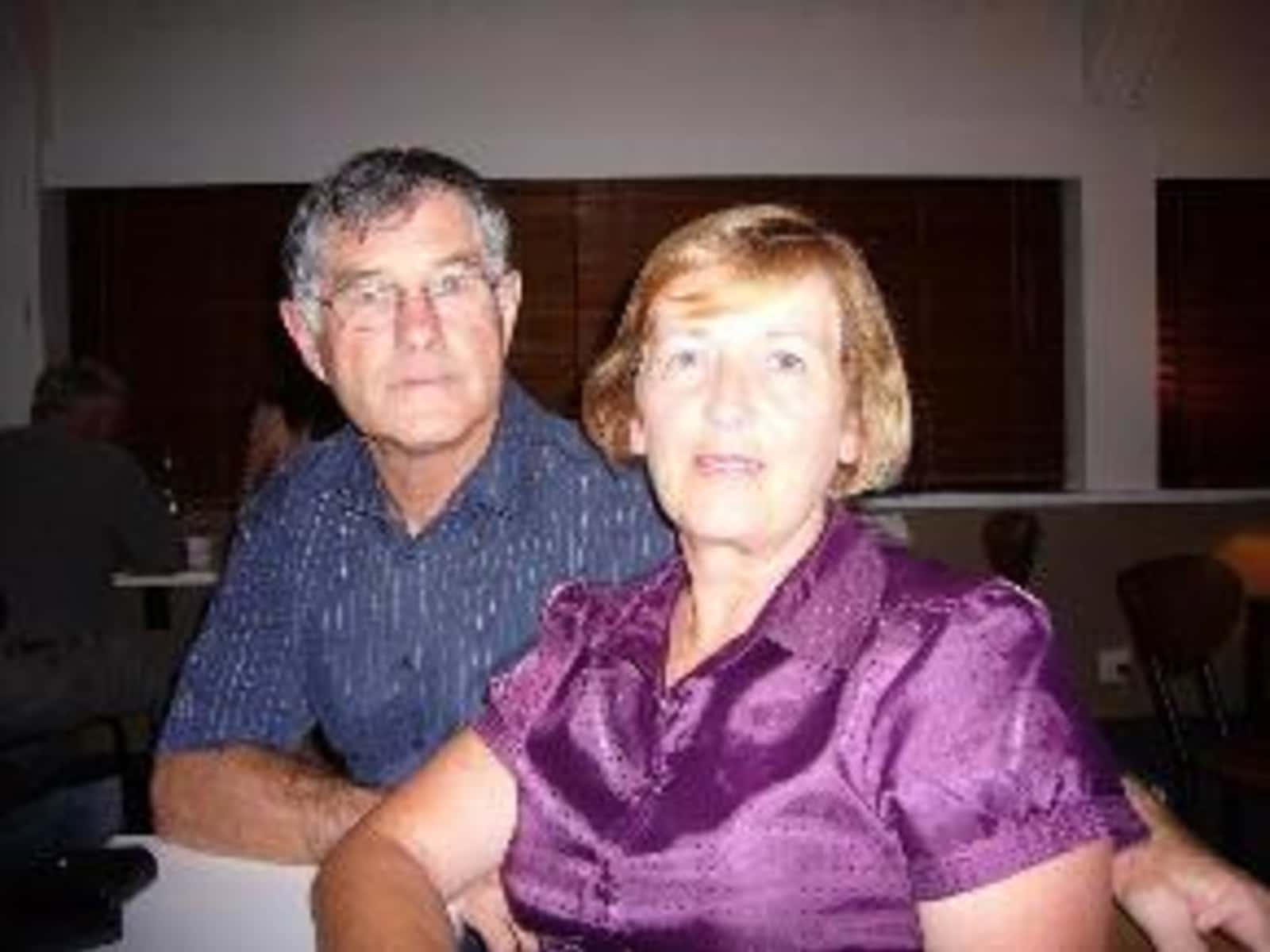 Maurice & Eileen from Christchurch, New Zealand