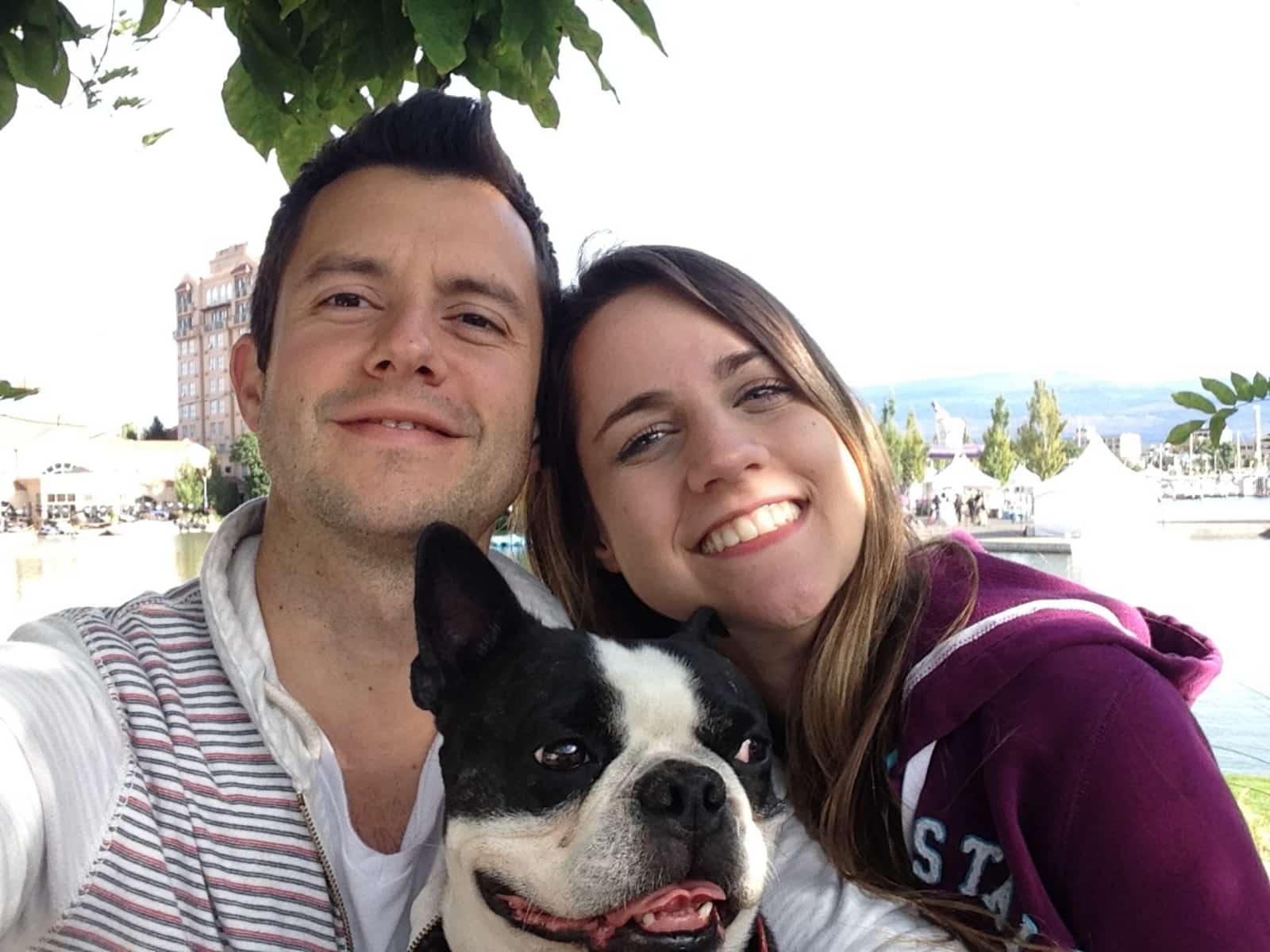 Caroline & Daniel from Vancouver, British Columbia, Canada