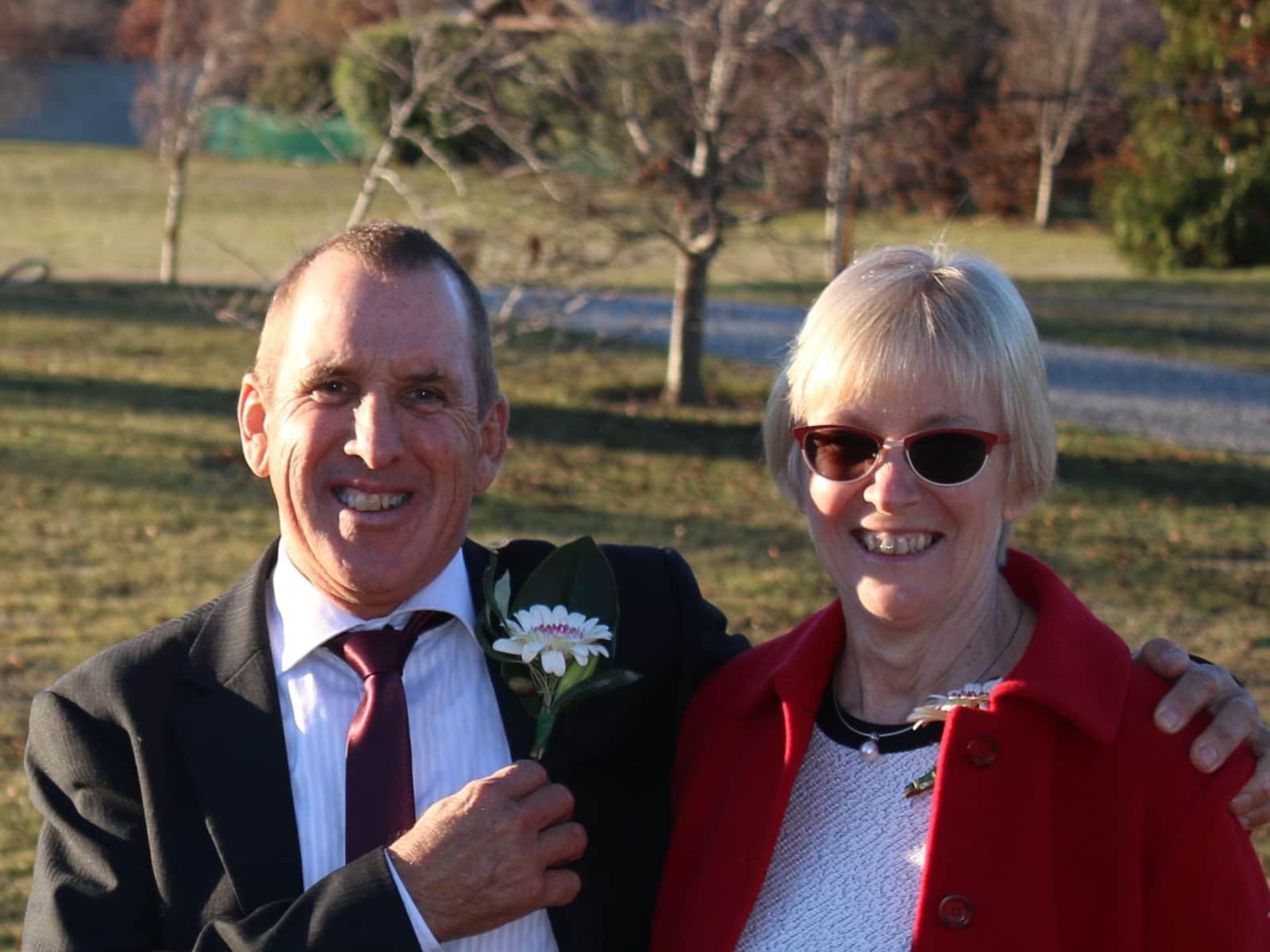 Helen & John from Darwin, Northern Territory, Australia