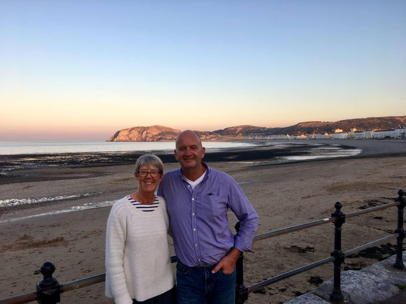 Julie & Michael from Noyal-sous-Bazouges, France
