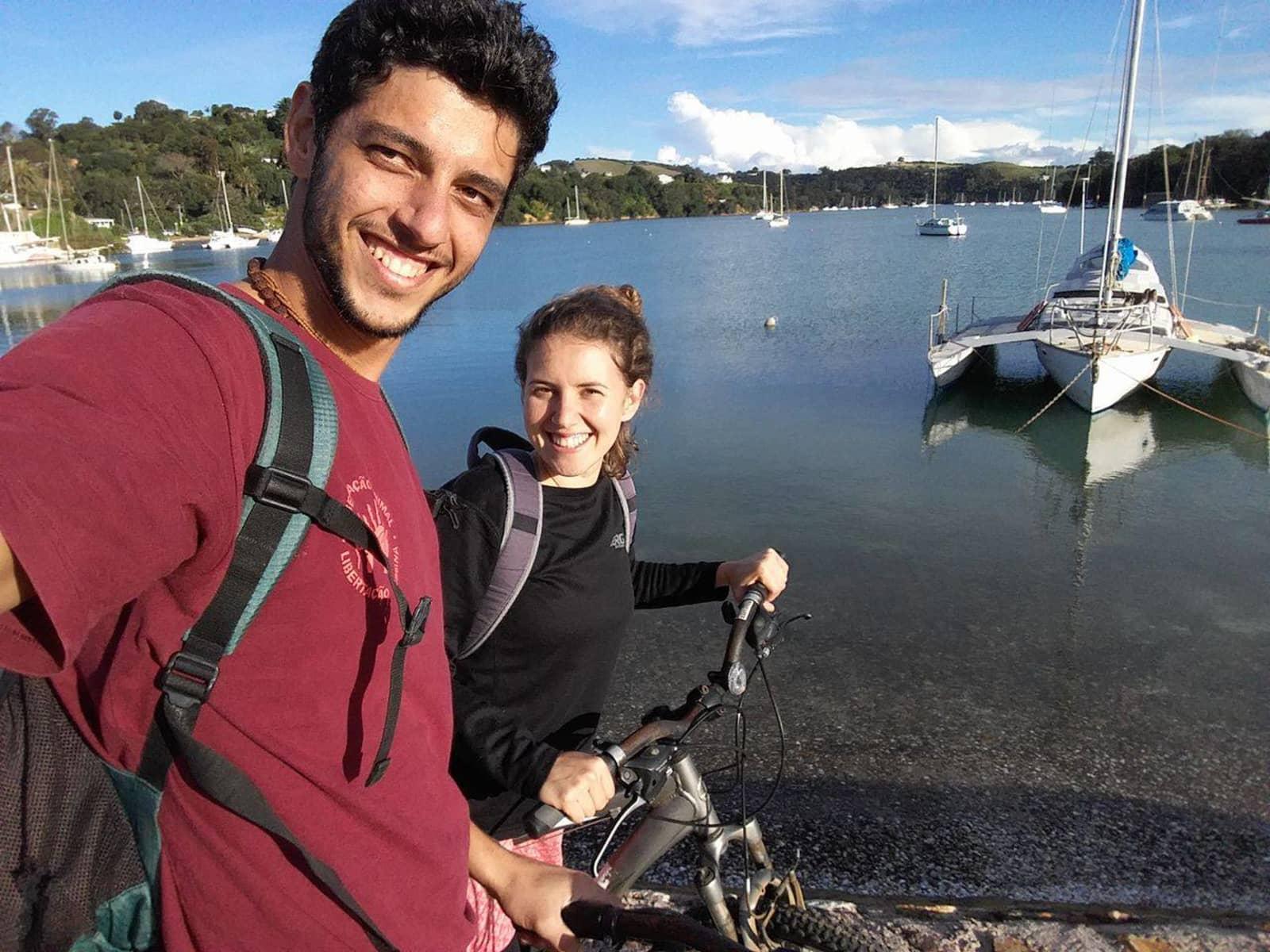 Flavio & Lilás from São Lourenço, Brazil