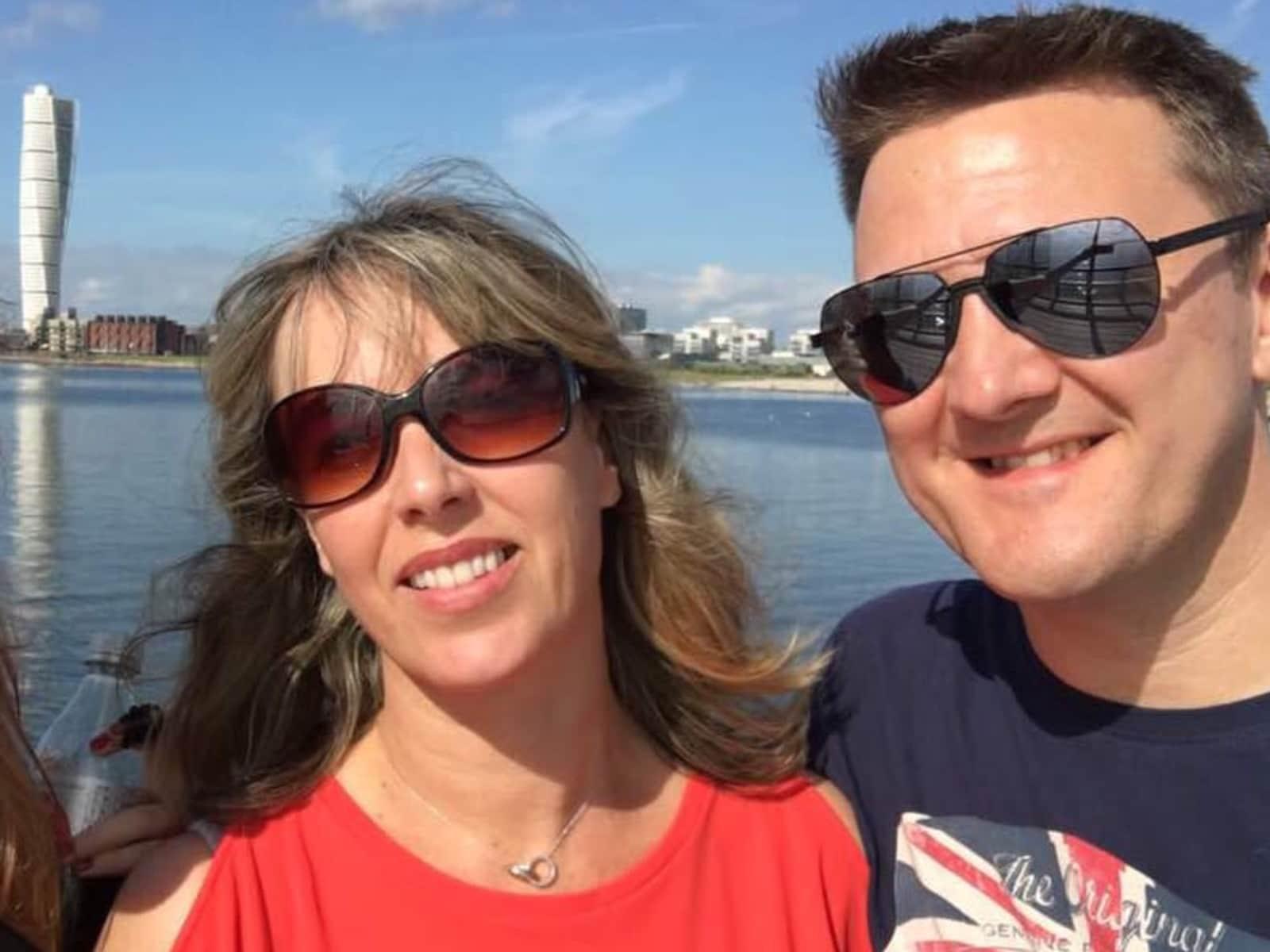 Jacqueline & Peter from Llantwit Major, United Kingdom
