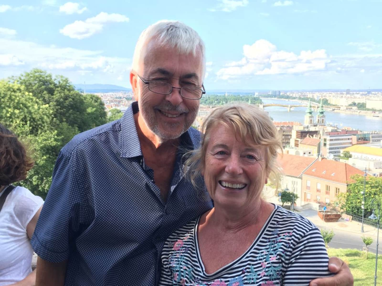 Dorothy & Bob from Gloucester, United Kingdom