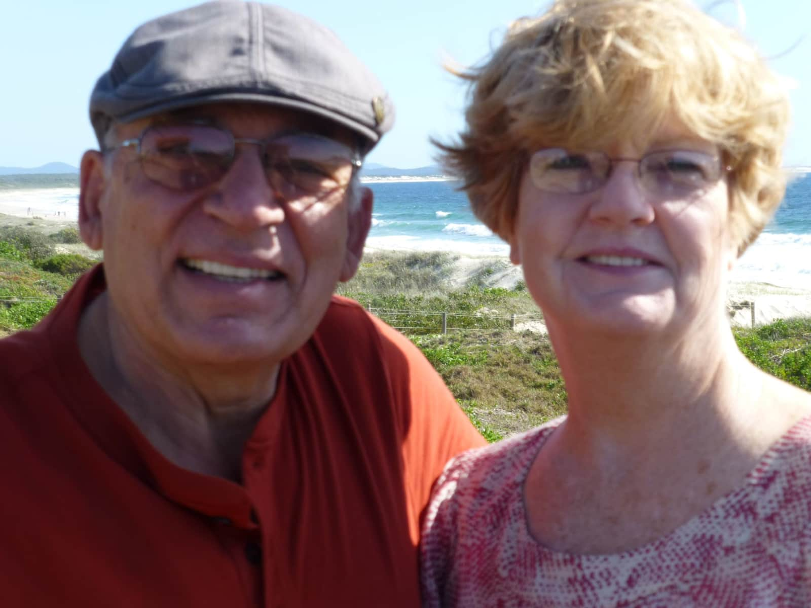 Roberta & George from Carlsbad, California, United States