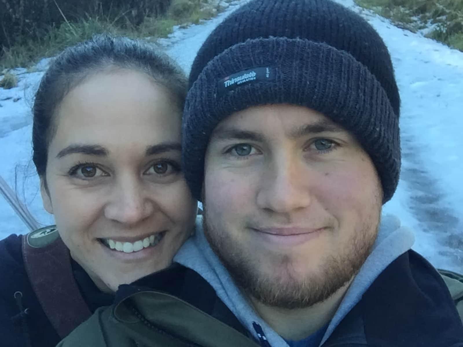 Amanda & Nick from Napier, New Zealand