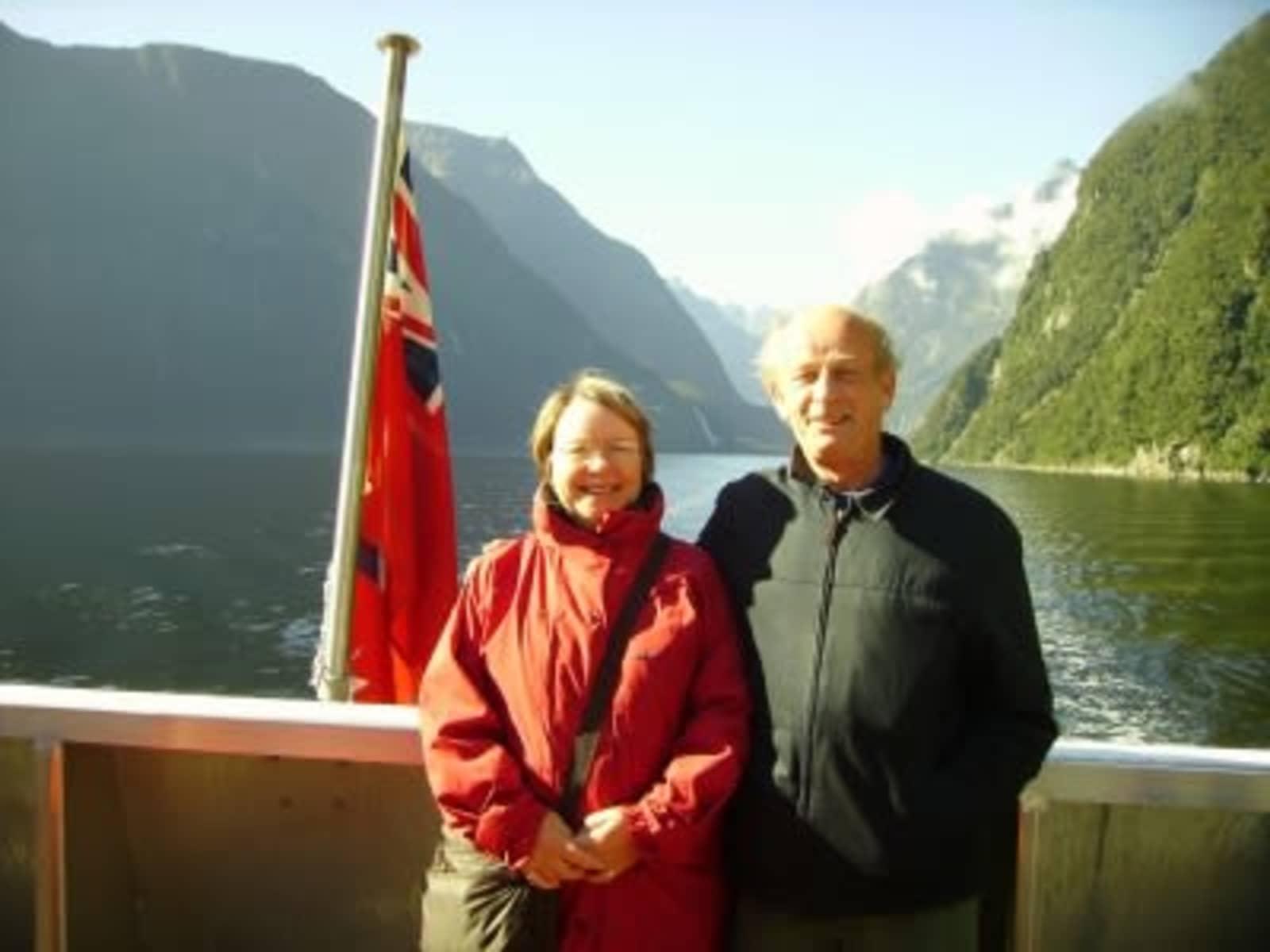 Janet & Brian from Melksham, United Kingdom