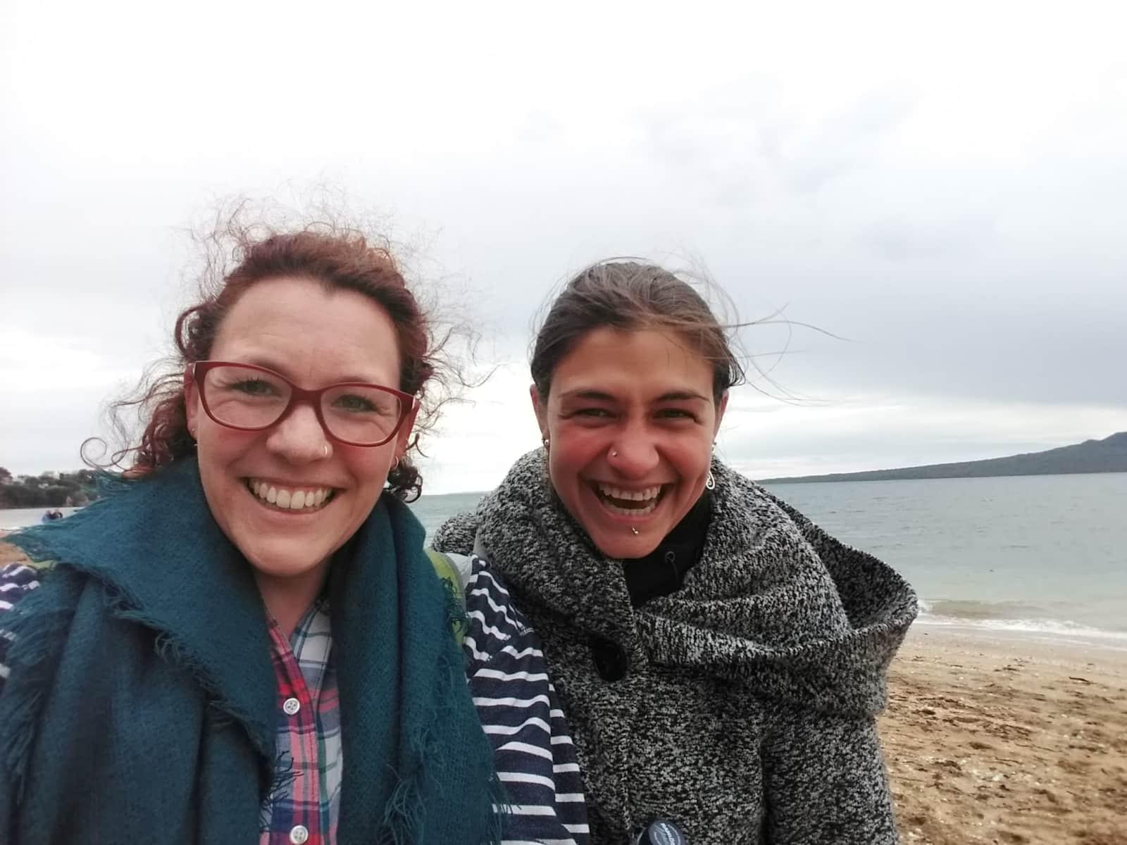 Georgina & Andrea from Auckland, New Zealand