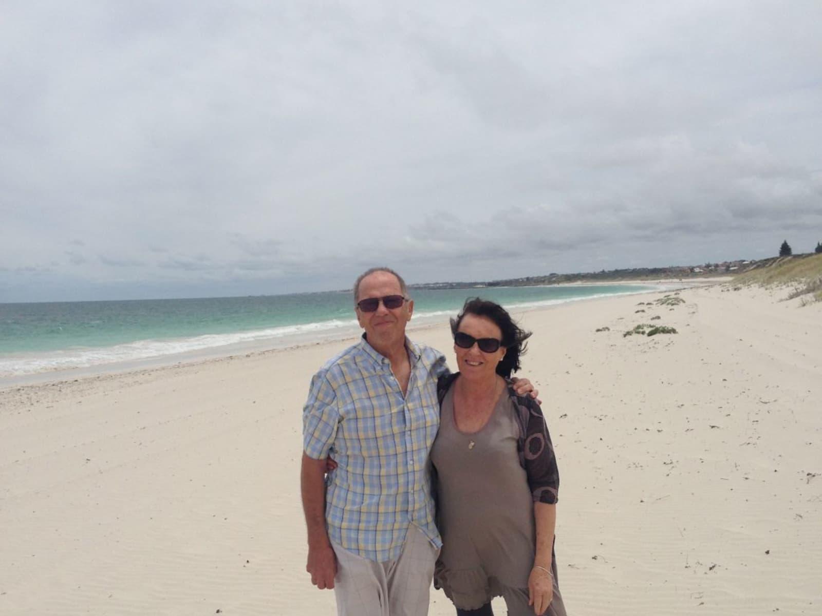 Elaine & Frederick from Perth, Western Australia, Australia