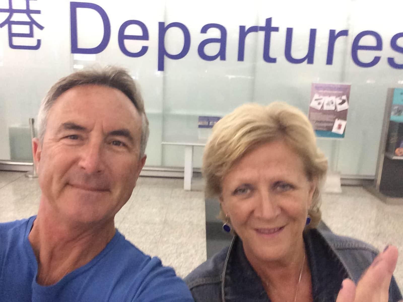 Paul & Jennifer from Hove, United Kingdom