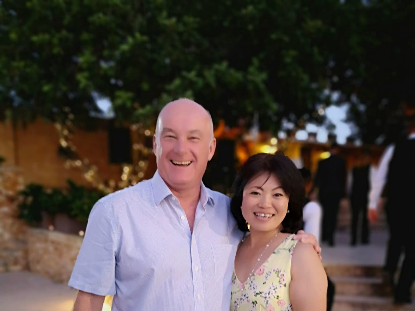 Chie & Jim from London, United Kingdom