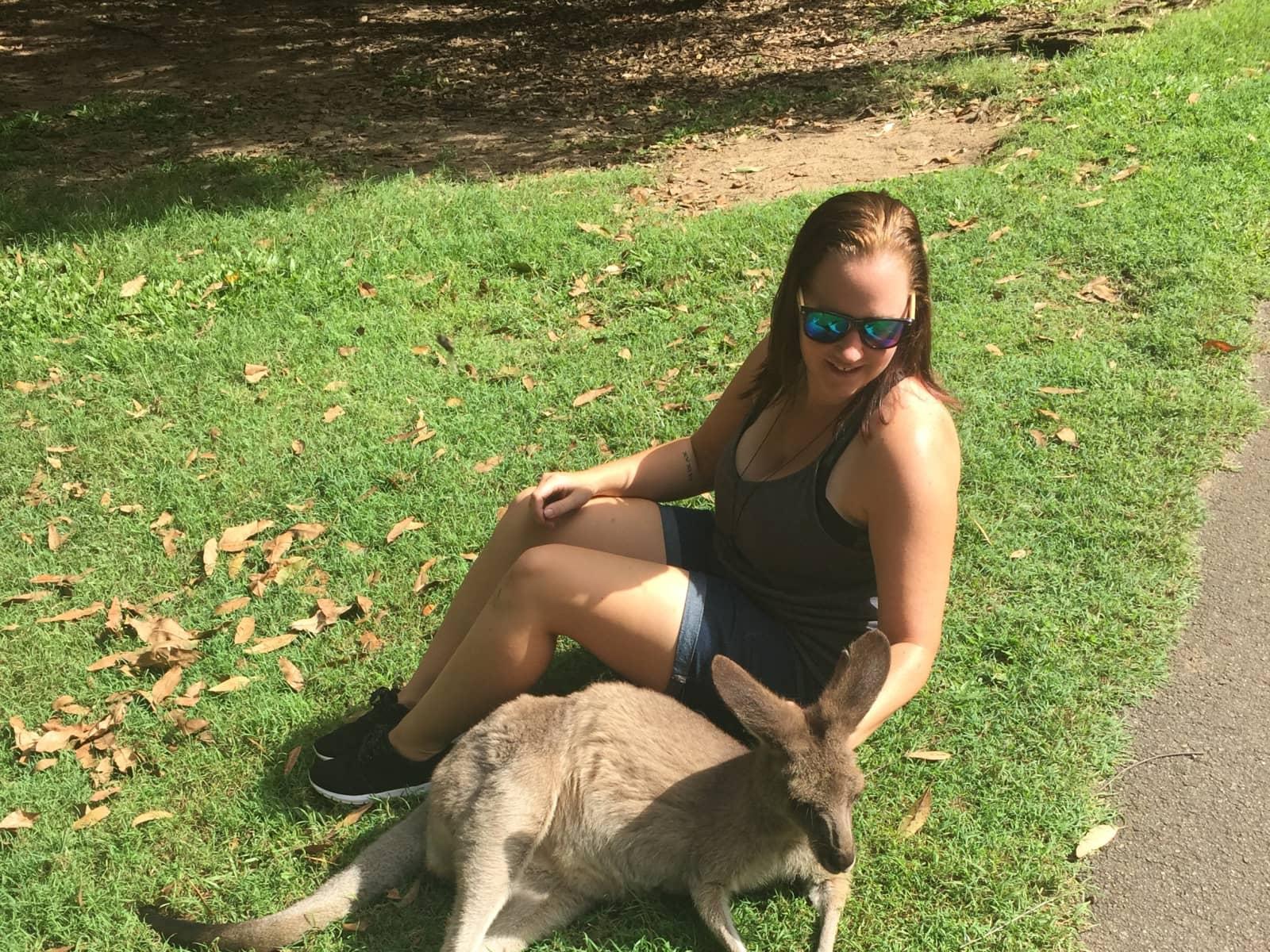 Samantha from Brisbane, Queensland, Australia