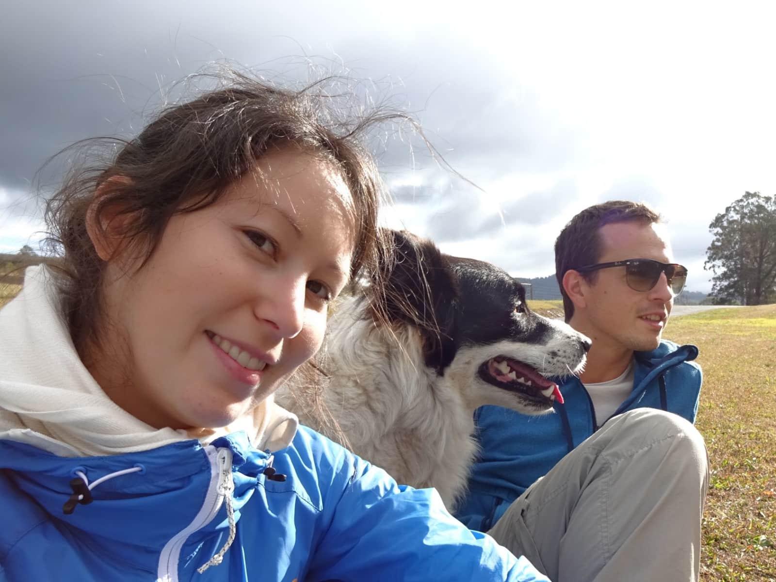 Stephanie & Janes from Munich, Germany