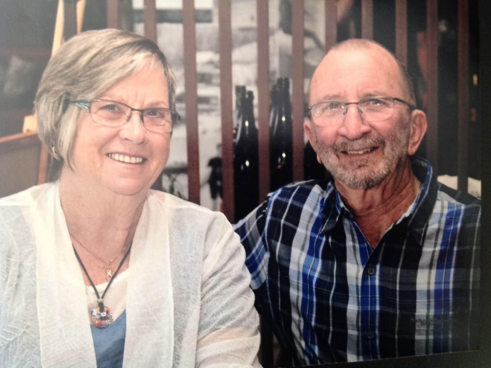 Barbara & Ian from Ulverstone, Tasmania, Australia