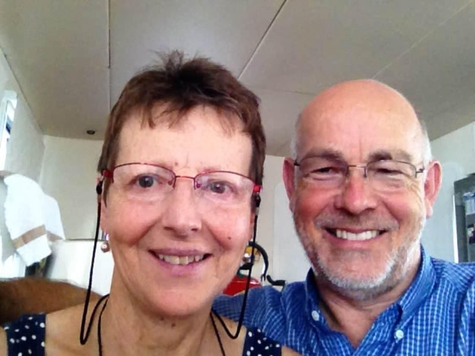 Barb & Bruce from Brisbane, Queensland, Australia