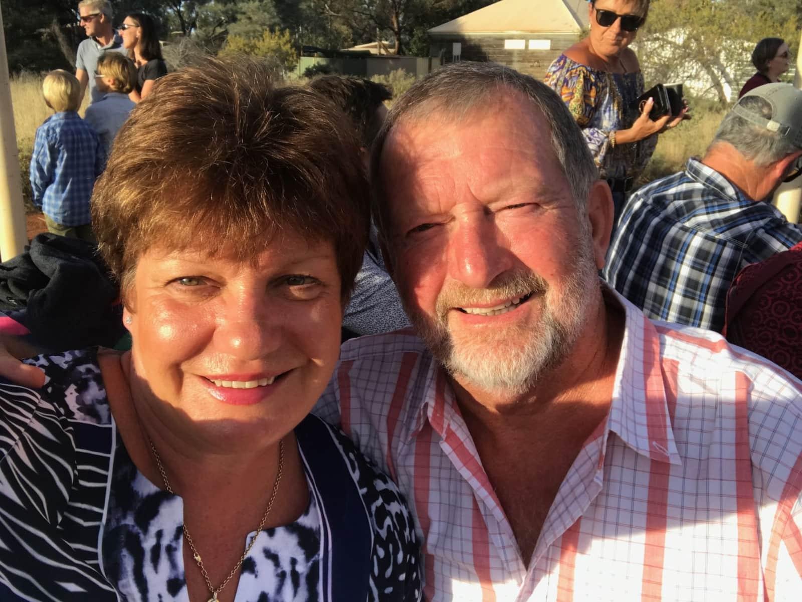 Jill & Joe from Legana, Tasmania, Australia