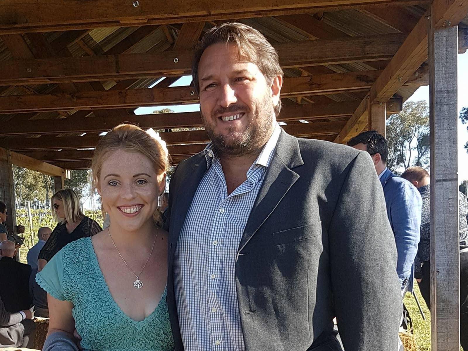 Sam & Sarah from Perth, Western Australia, Australia