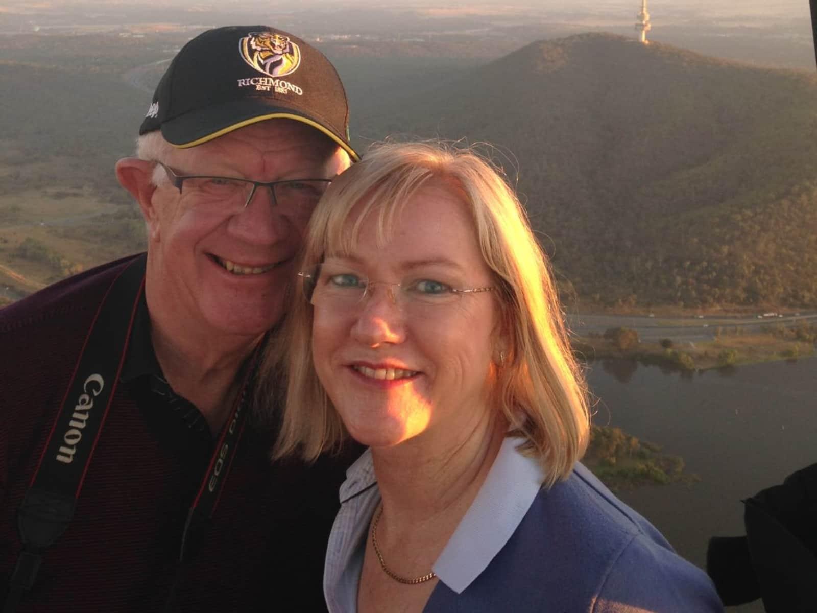 Gary & Jenny from Canberra, Australian Capital Territory, Australia