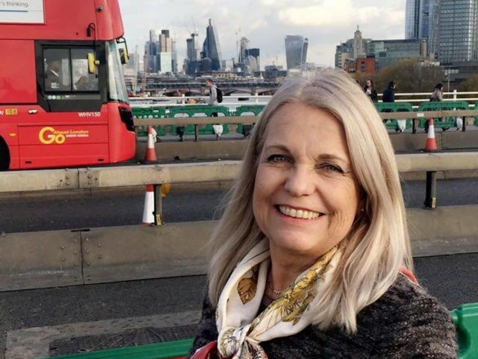 Barbara from Northfield, United Kingdom