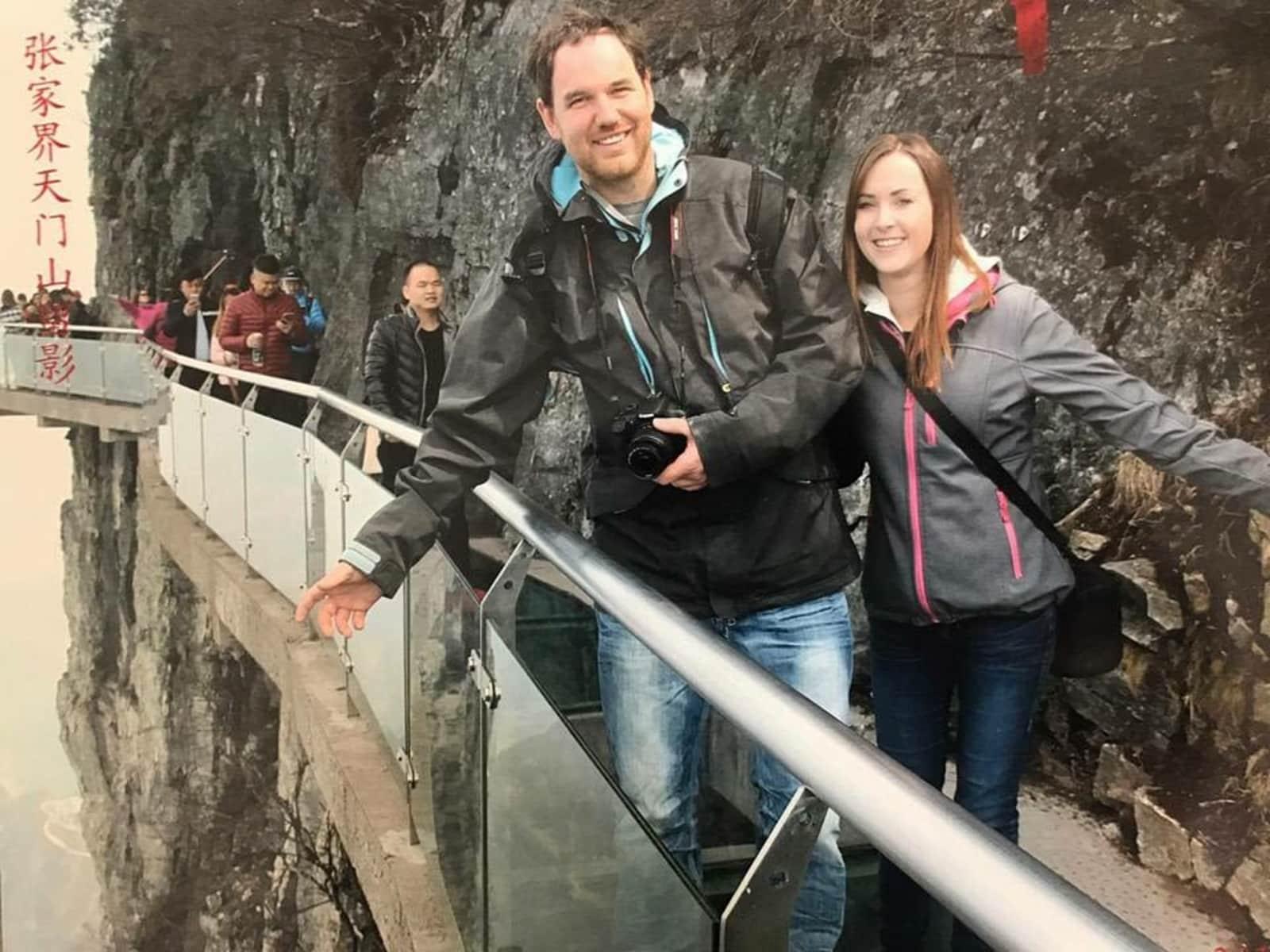 Cara & Chris from Saskatoon, Saskatchewan, Canada