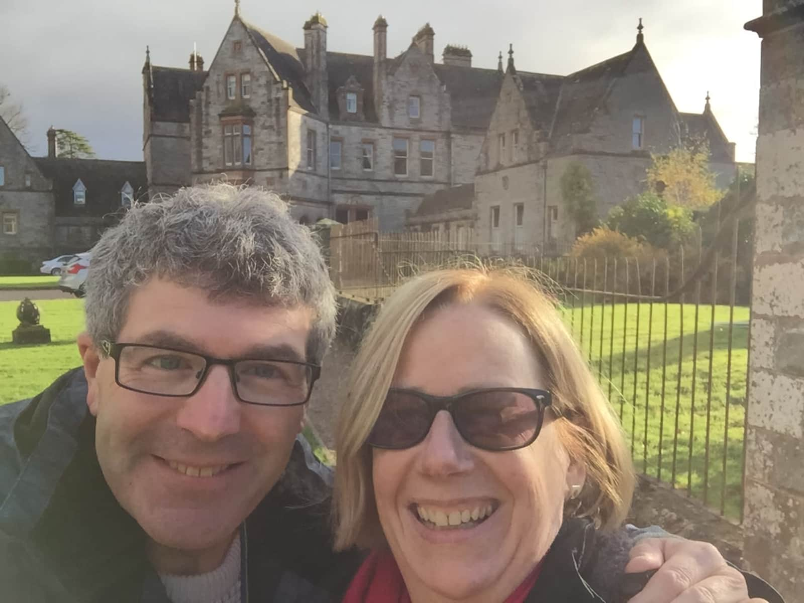 Marie & Jeffrey from Belfast, United Kingdom