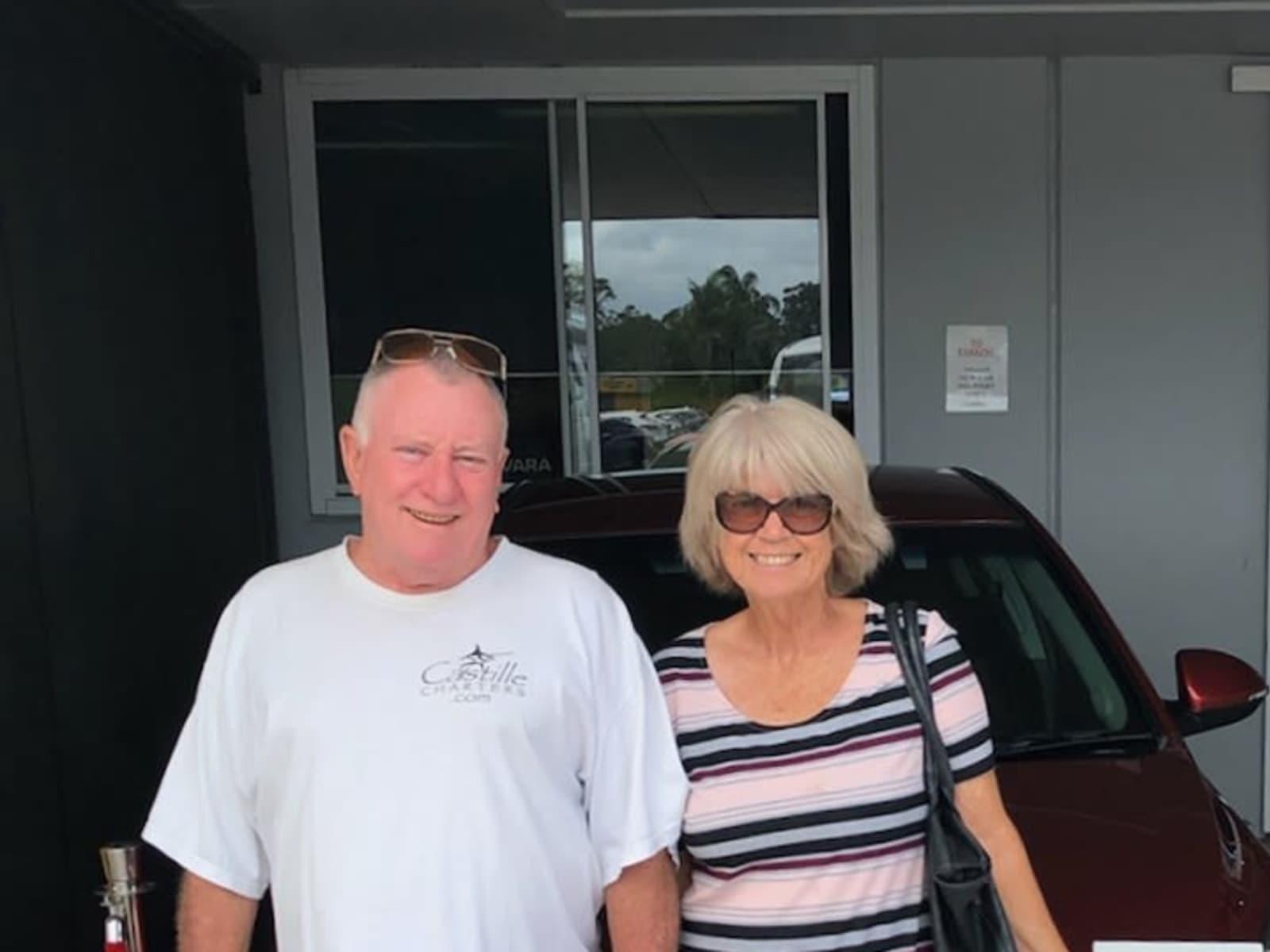 Dianne & Dereck from Gold Coast, Queensland, Australia