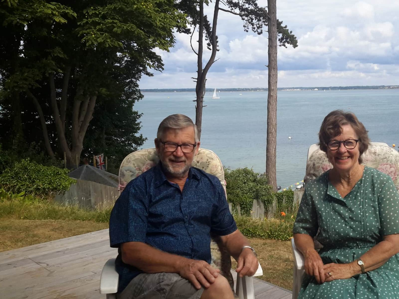 Forde & Pamela from Kaiapoi, New Zealand