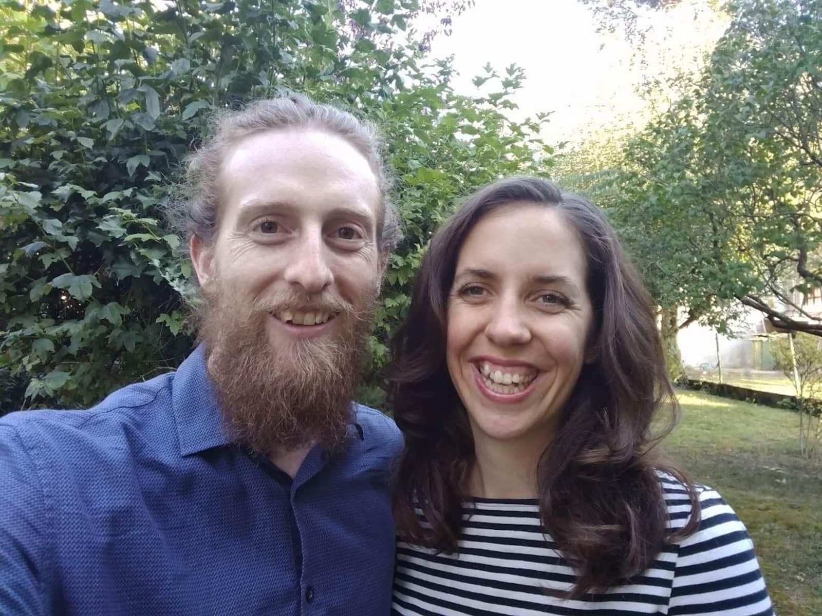 Delphine & Michael from La Chaux-de-Fonds, Switzerland