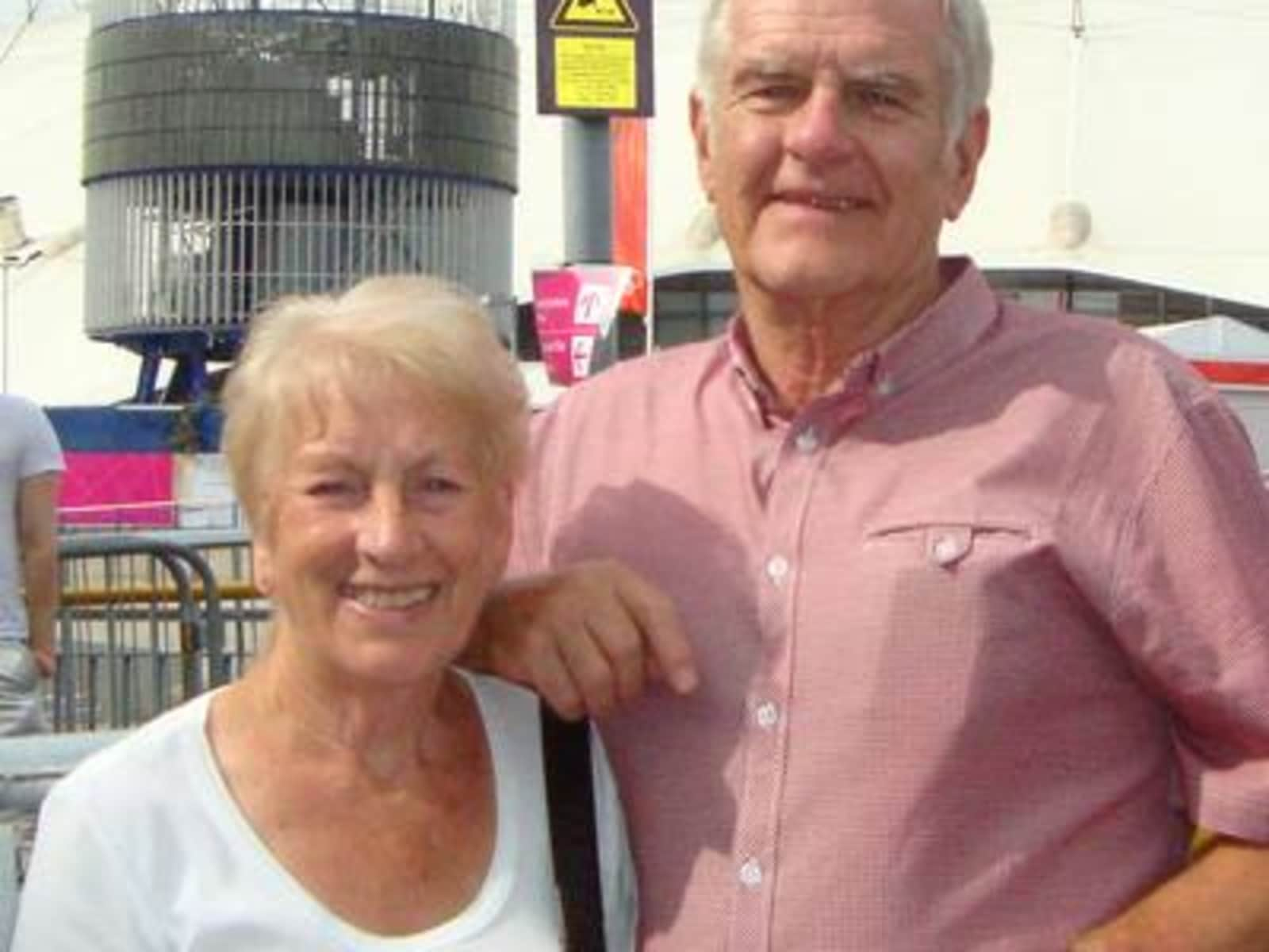 Roger & Glenys from Newport, United Kingdom