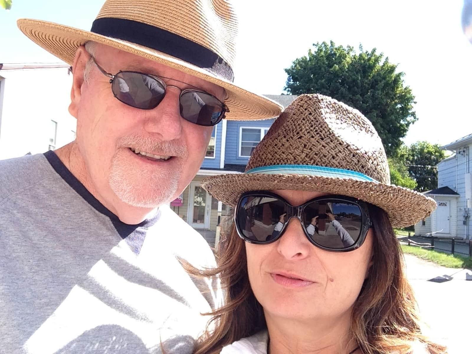Neal & Mirna from Ottawa, Ontario, Canada