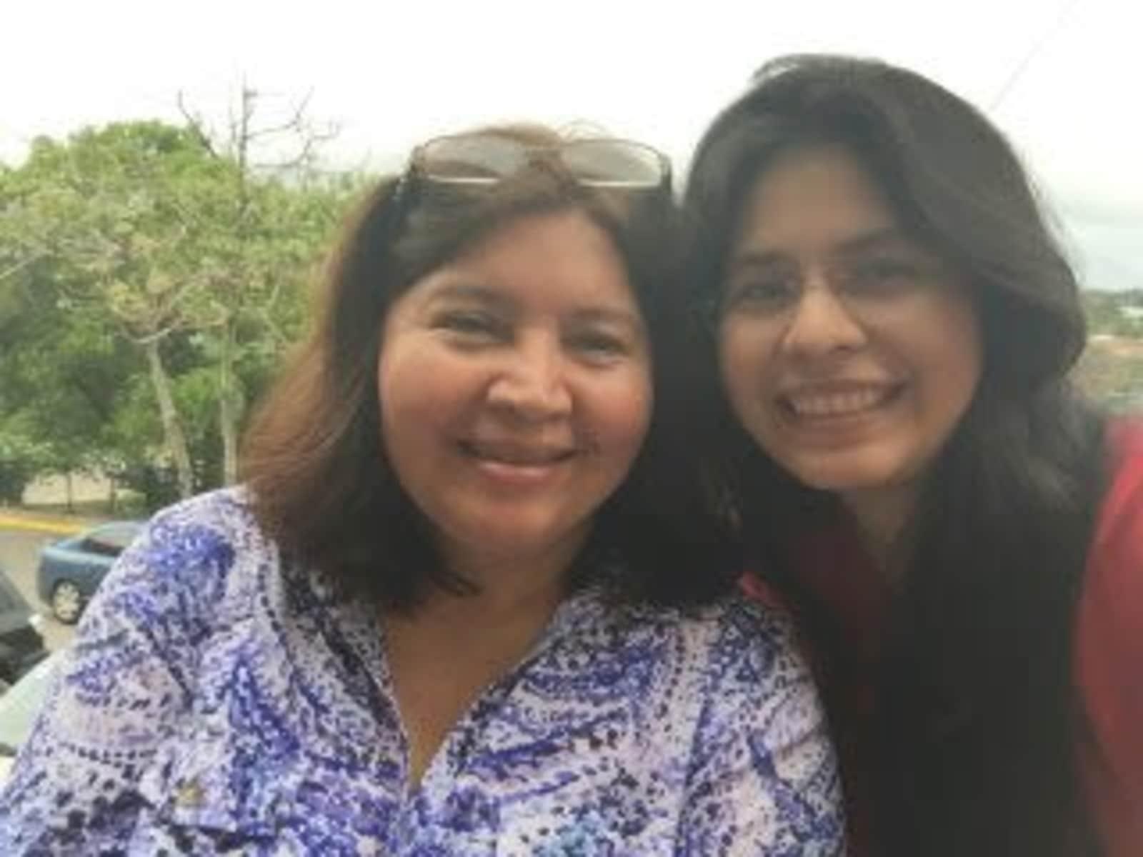 Diana & Zonia from San Pedro Sula, Honduras