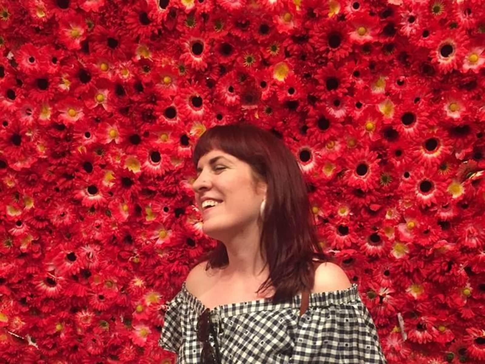 Rebecca from Woodend, Victoria, Australia