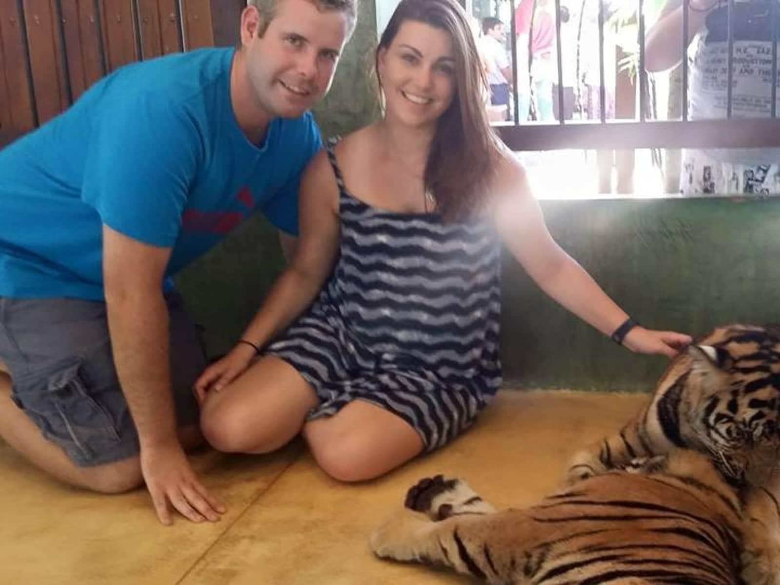 Jess & Barry from Perth, Western Australia, Australia