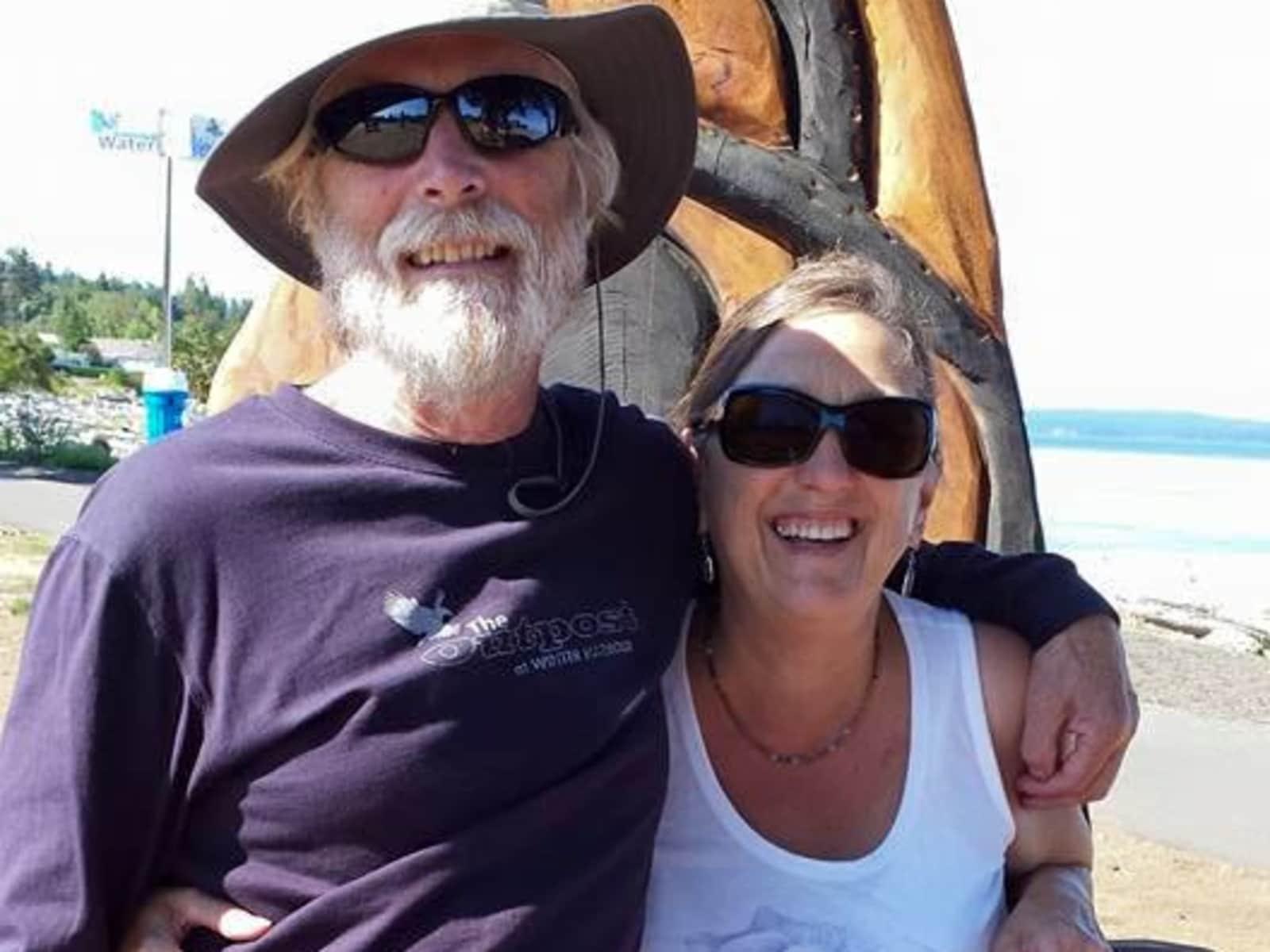 Sandy & David from Courtenay, British Columbia, Canada