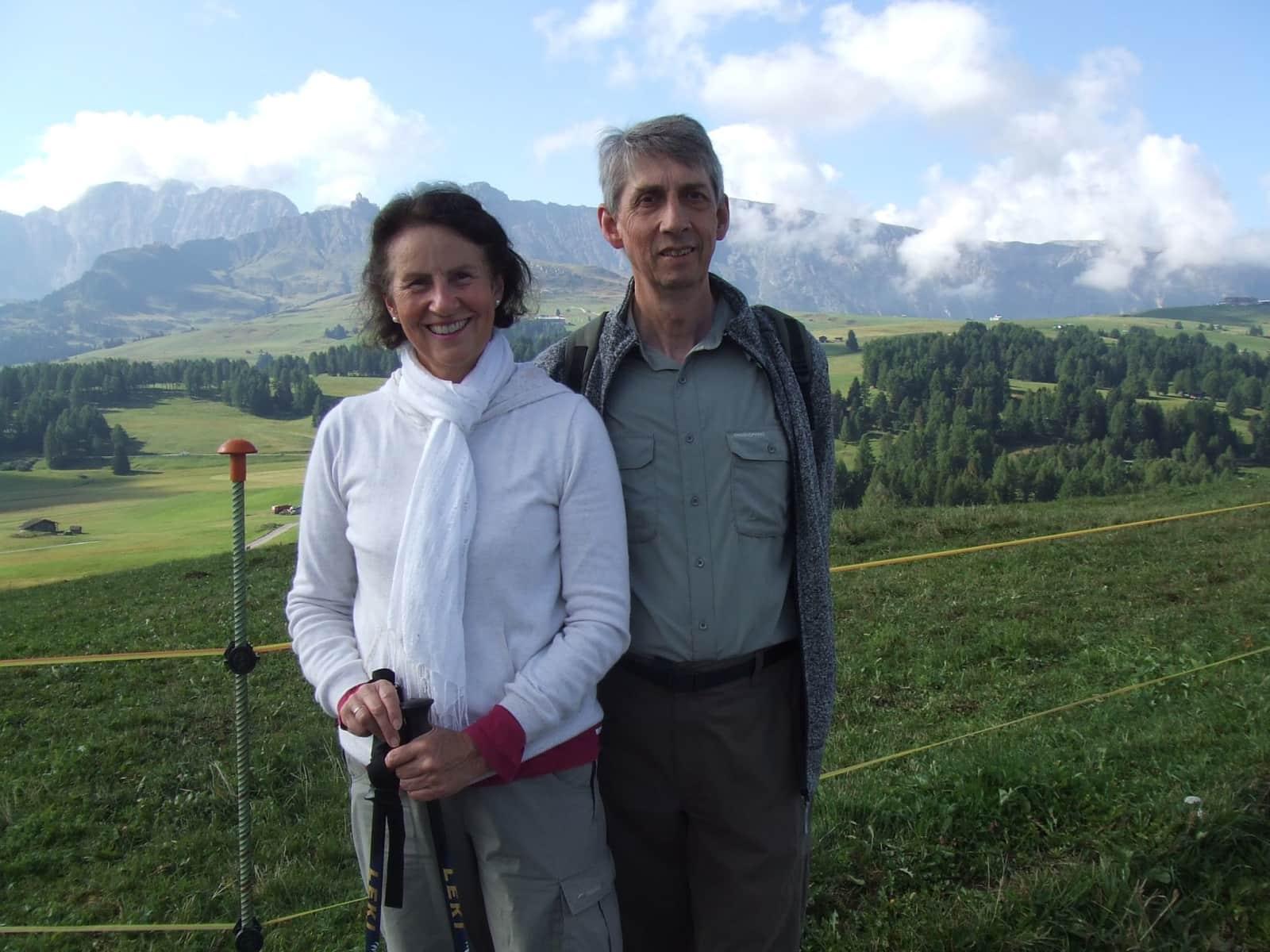 Waltraud & Barry from Cambridge, United Kingdom