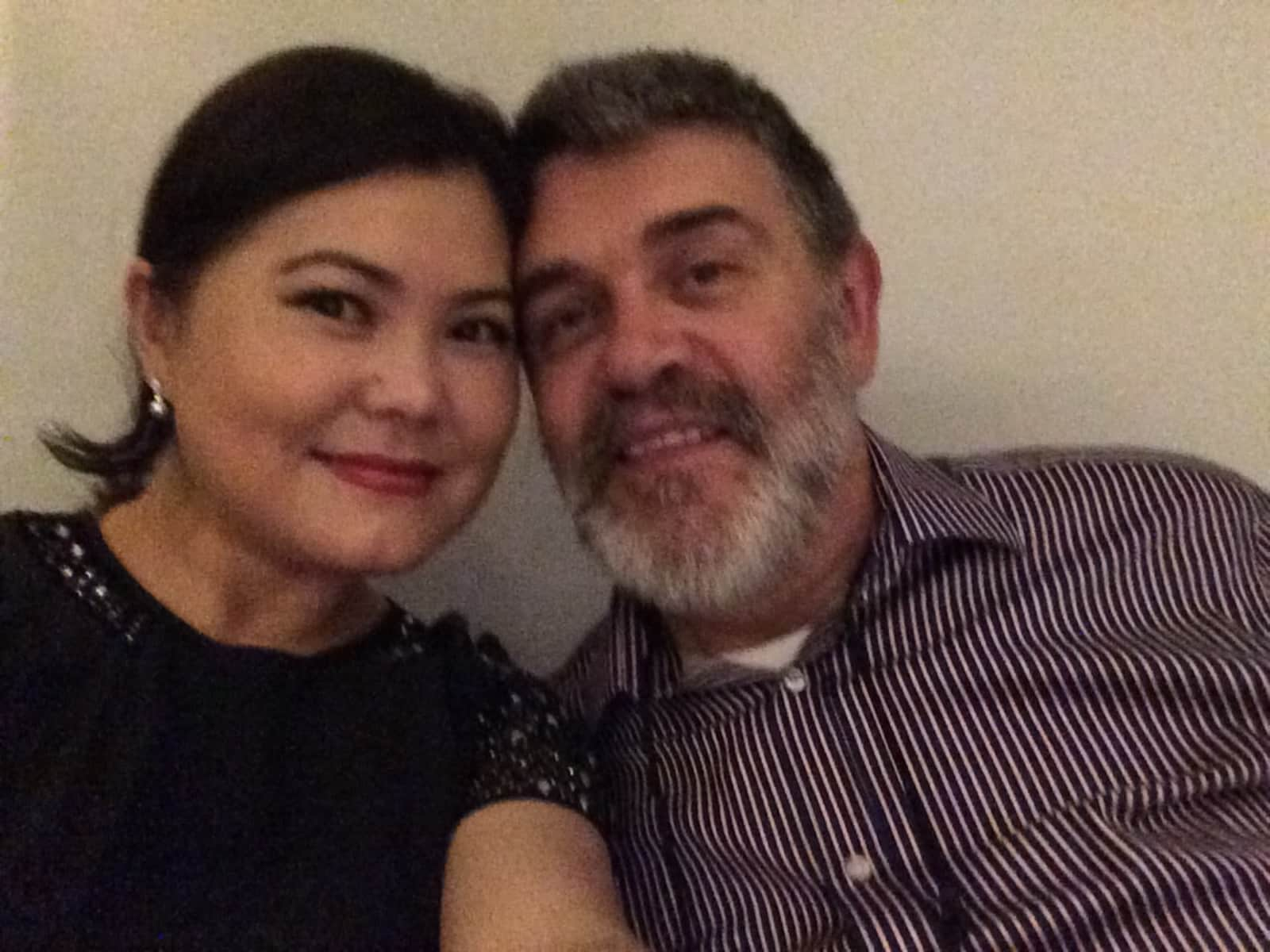 Zhanar & Martin from London, United Kingdom