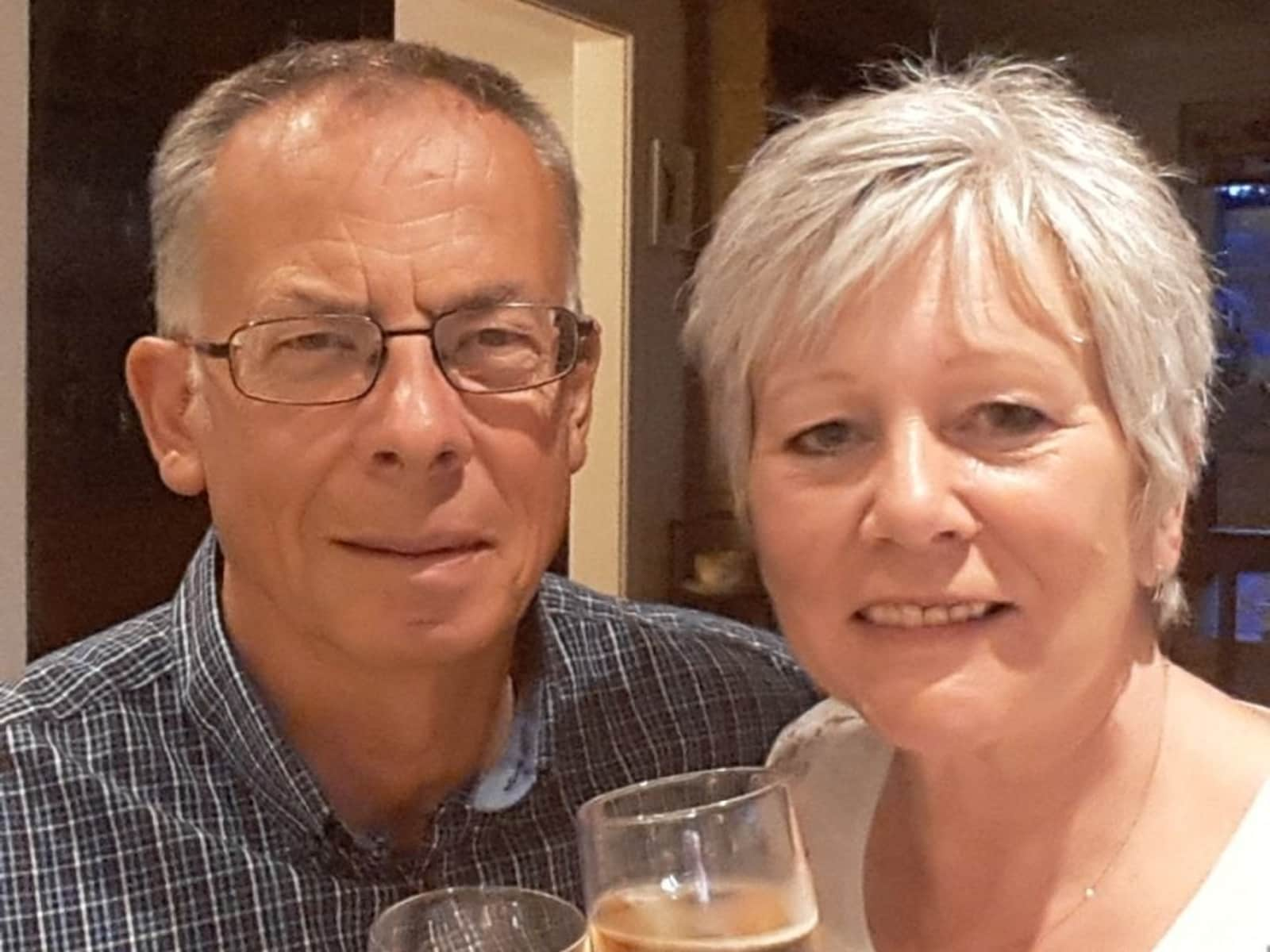 Stephen & Karen from Haverfordwest, United Kingdom