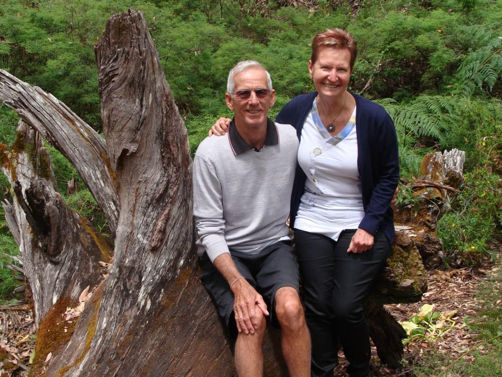 Nancy & Gerry from Margaret River, Western Australia, Australia