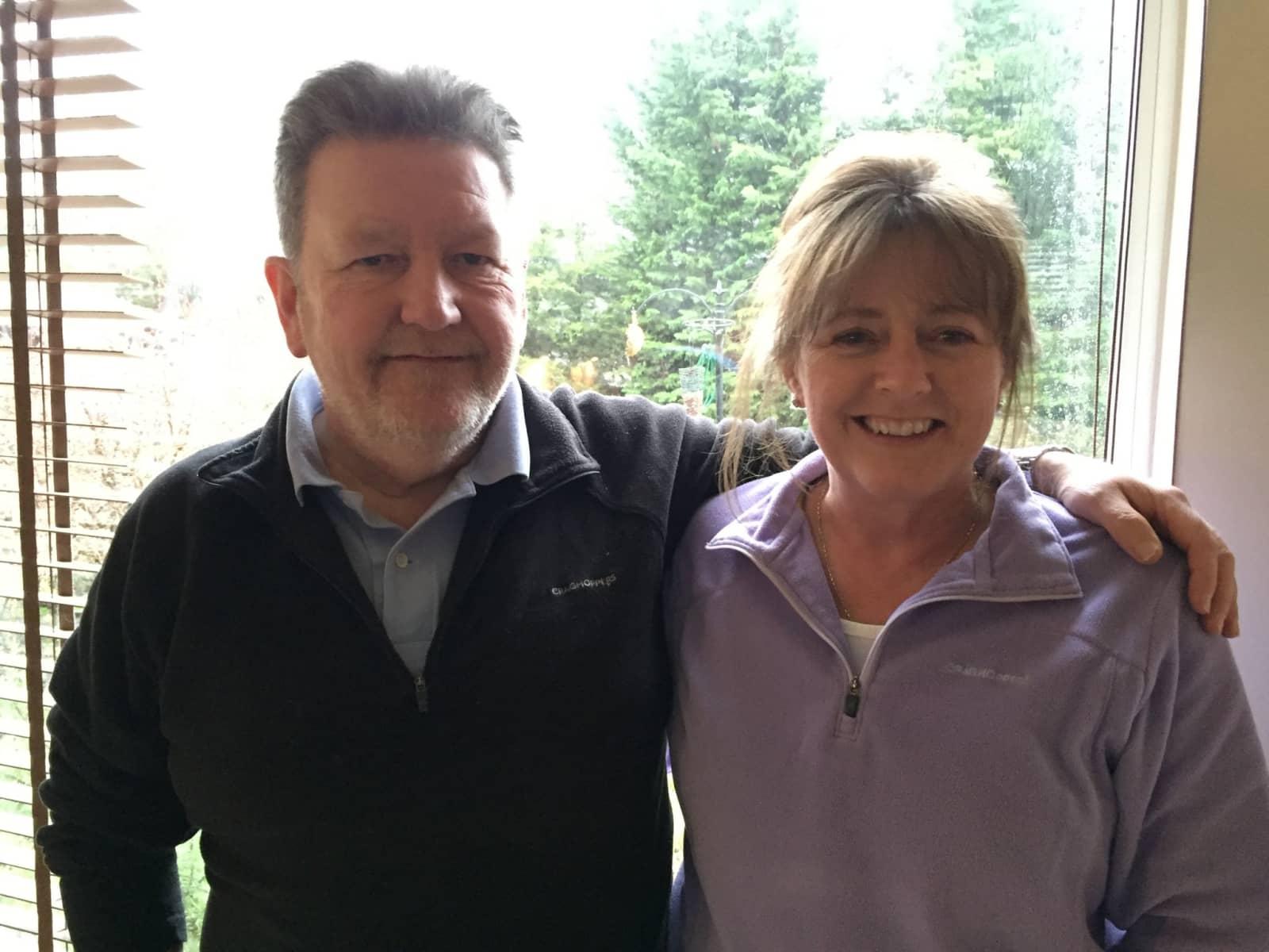 Alan & Rosalind from Glasgow, United Kingdom
