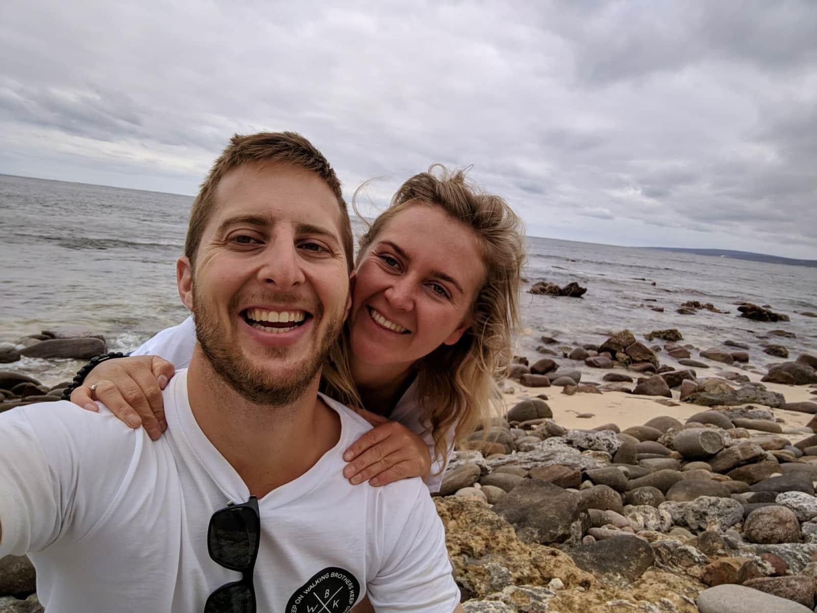 Nicola & Aaron from Perth, Western Australia, Australia