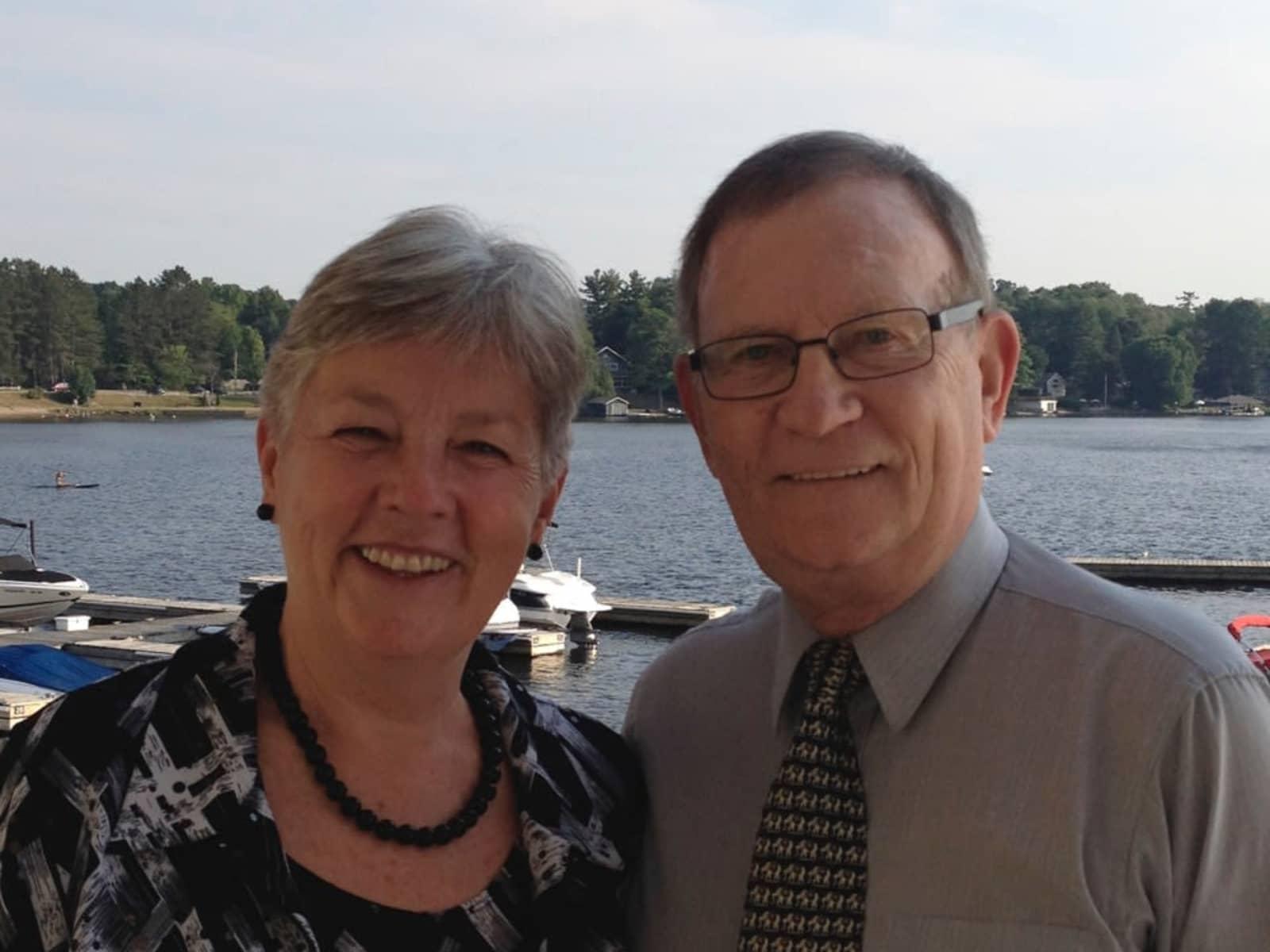 Joan & Rob from Otaki, New Zealand