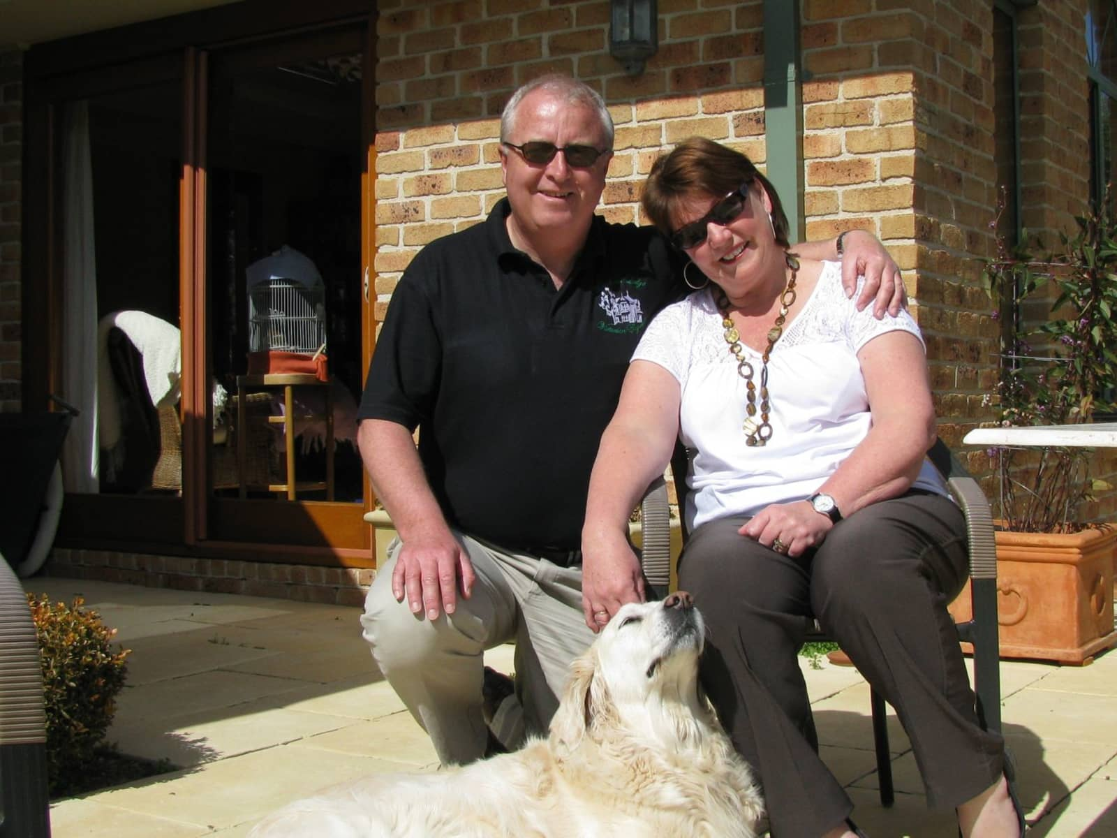 Sandra & Graham from Gore, New Zealand