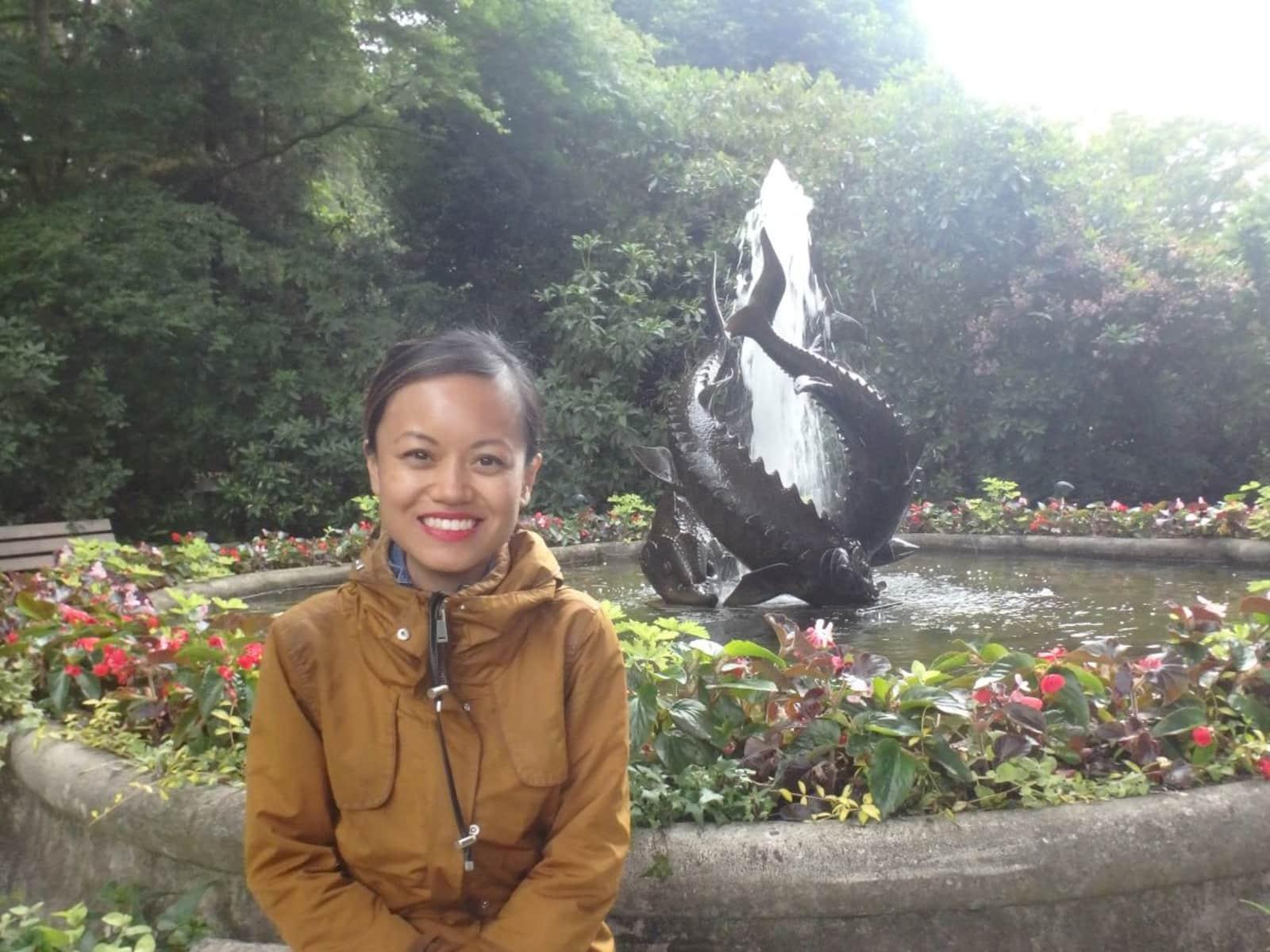Stefanie from Toronto, Ontario, Canada