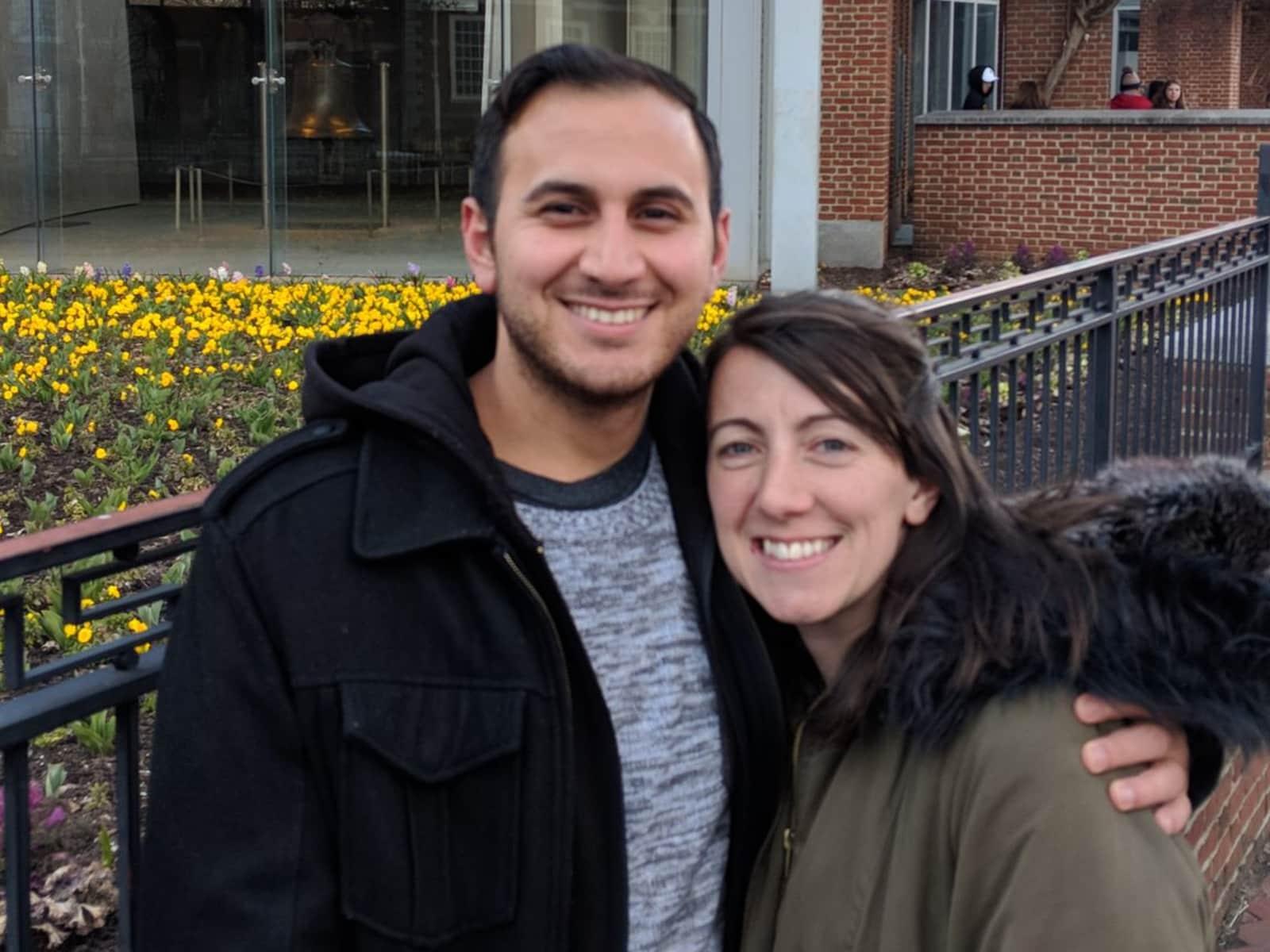 Stephanie & Ronny from Philadelphia, Pennsylvania, United States
